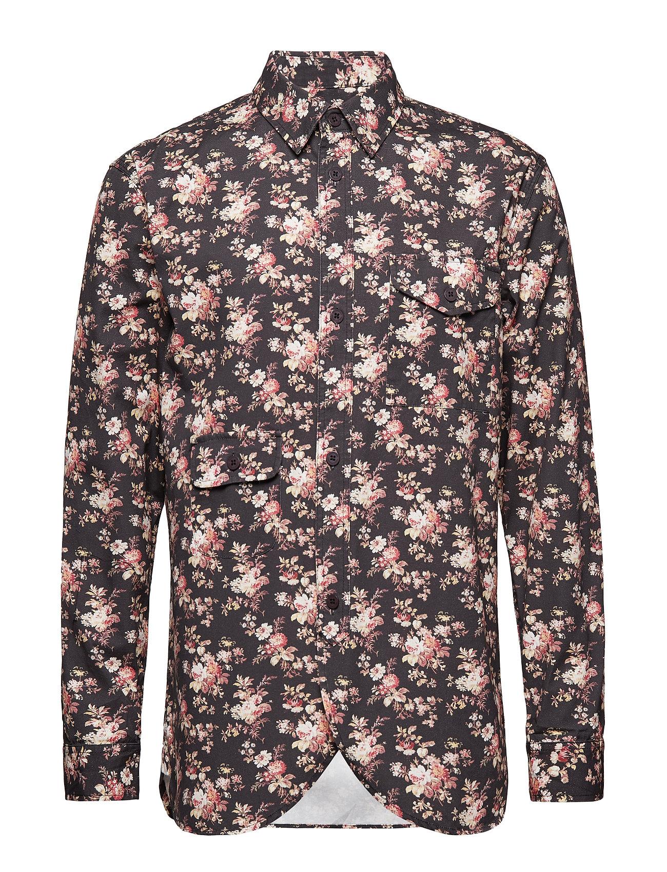 HAN Kjøbenhavn Army Shirt - FLOWER CANVAS