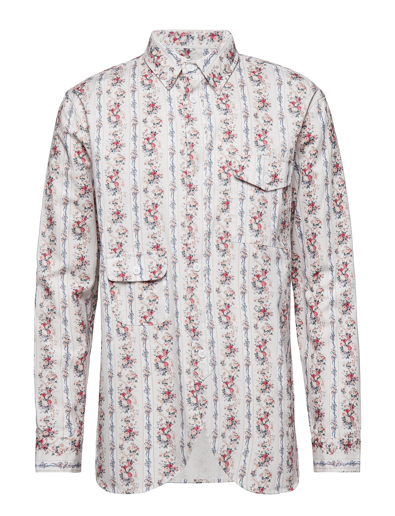 HAN Kjøbenhavn Army Shirt - POWDER FLOWERS