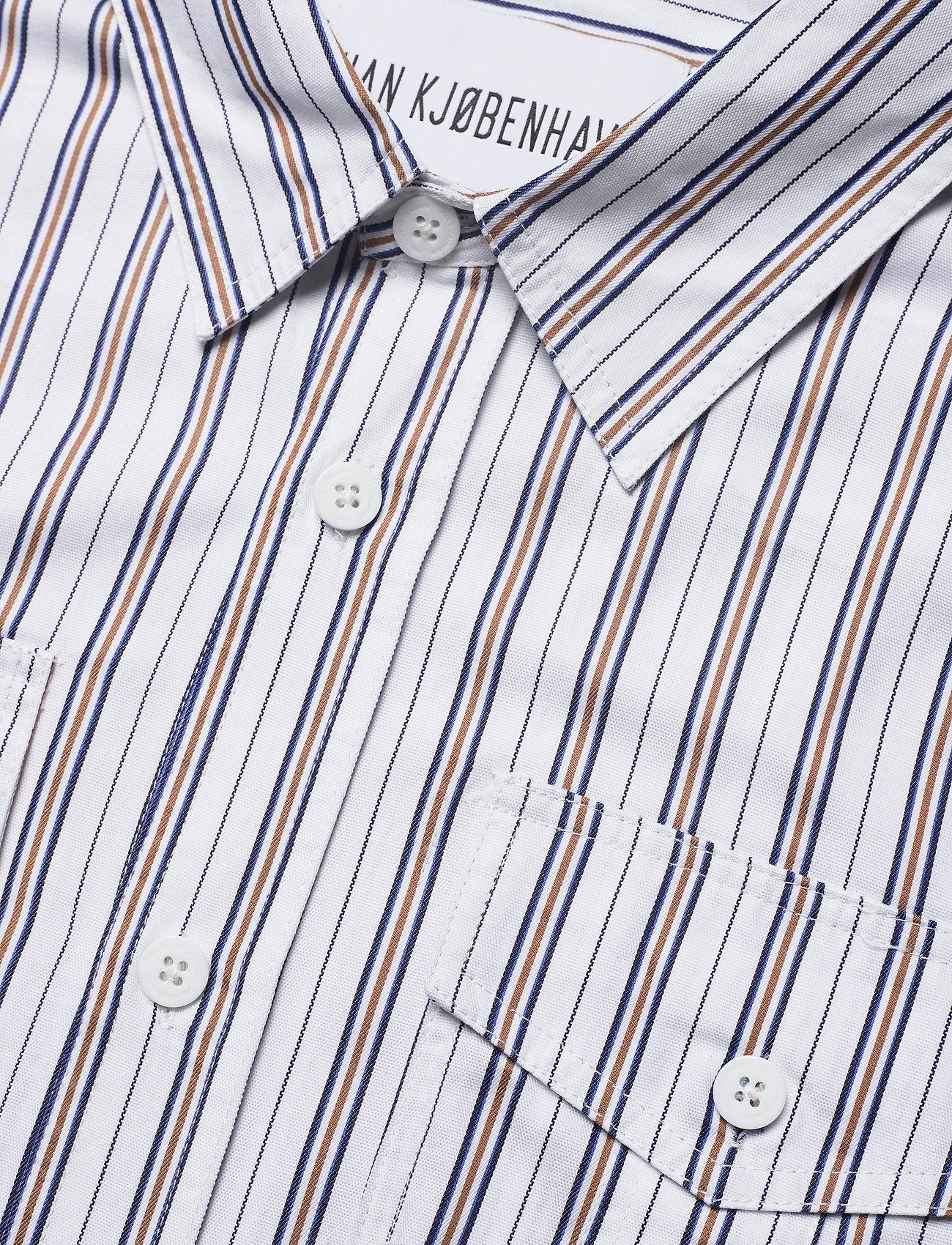 HAN Kjøbenhavn - Garden Shirt - casual overhemden - triple stripe - 3