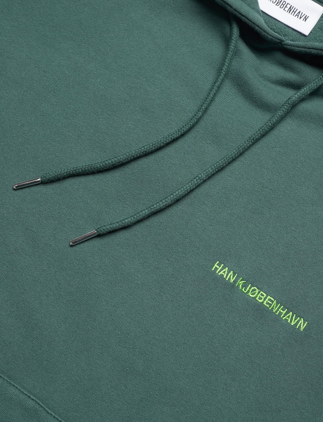 HAN Kjøbenhavn Bulky Hoodie - Sweatshirts FADED GREEN - Menn Klær