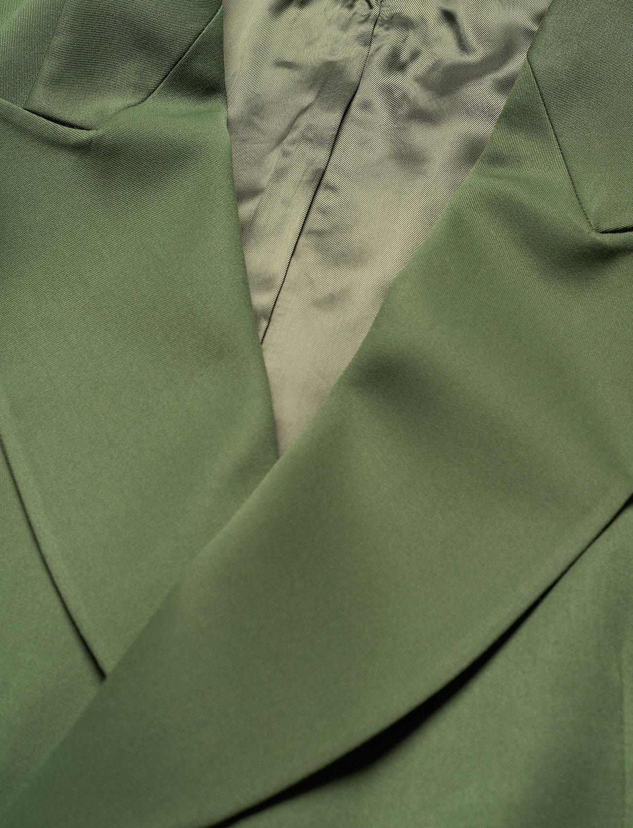 HAN Kjøbenhavn - Boxy Blazer - kostuums met dubbele knopen - dark green - 2