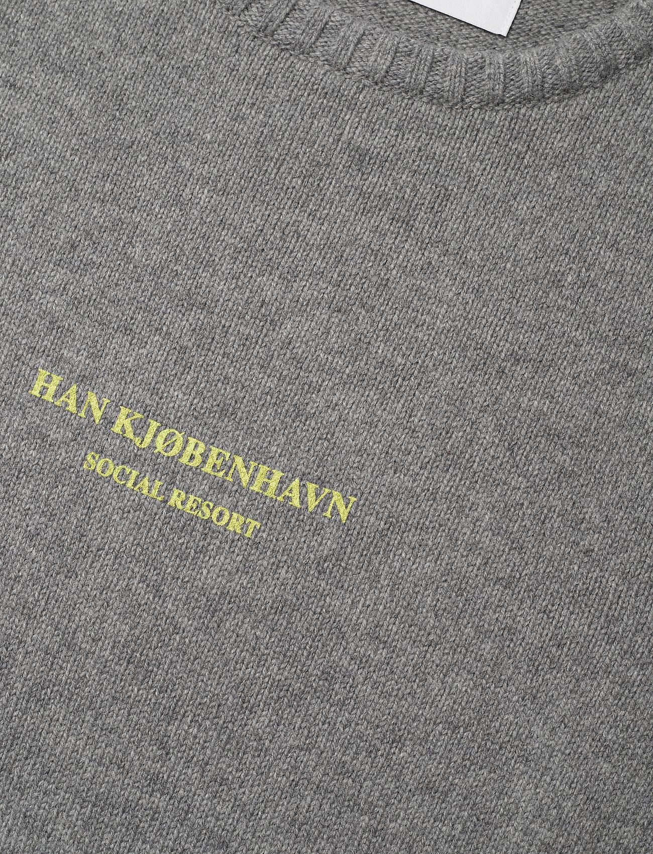 HAN Kjøbenhavn - Bulky Knit Grey - basic gebreide truien - grey melange - 2