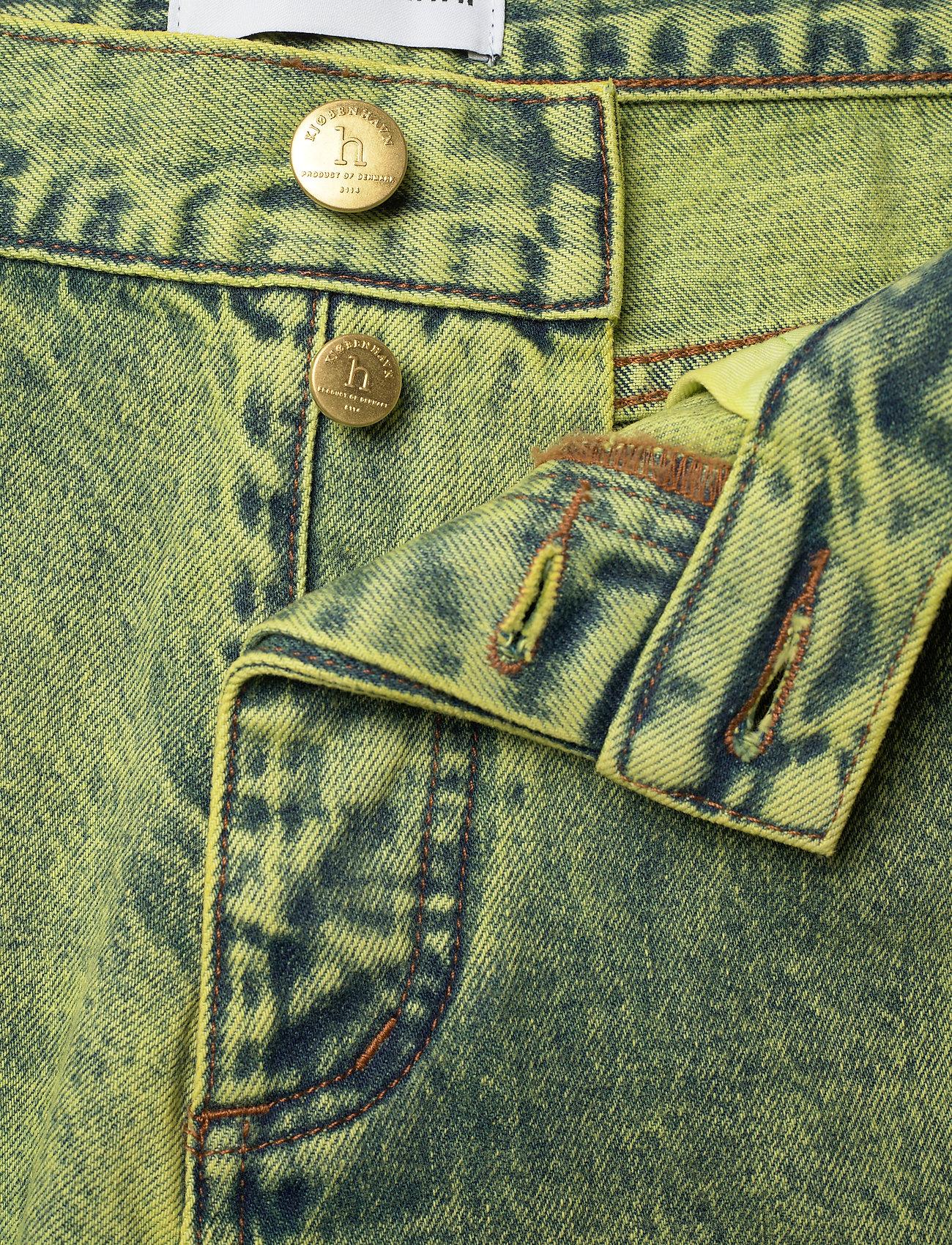 HAN Kjøbenhavn - Denim Jeans - slim jeans - lime - 3