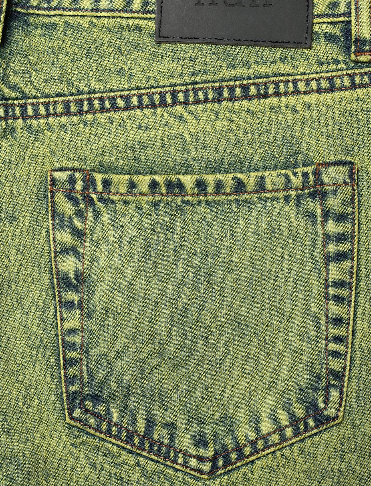 HAN Kjøbenhavn - Denim Jeans - slim jeans - lime - 4