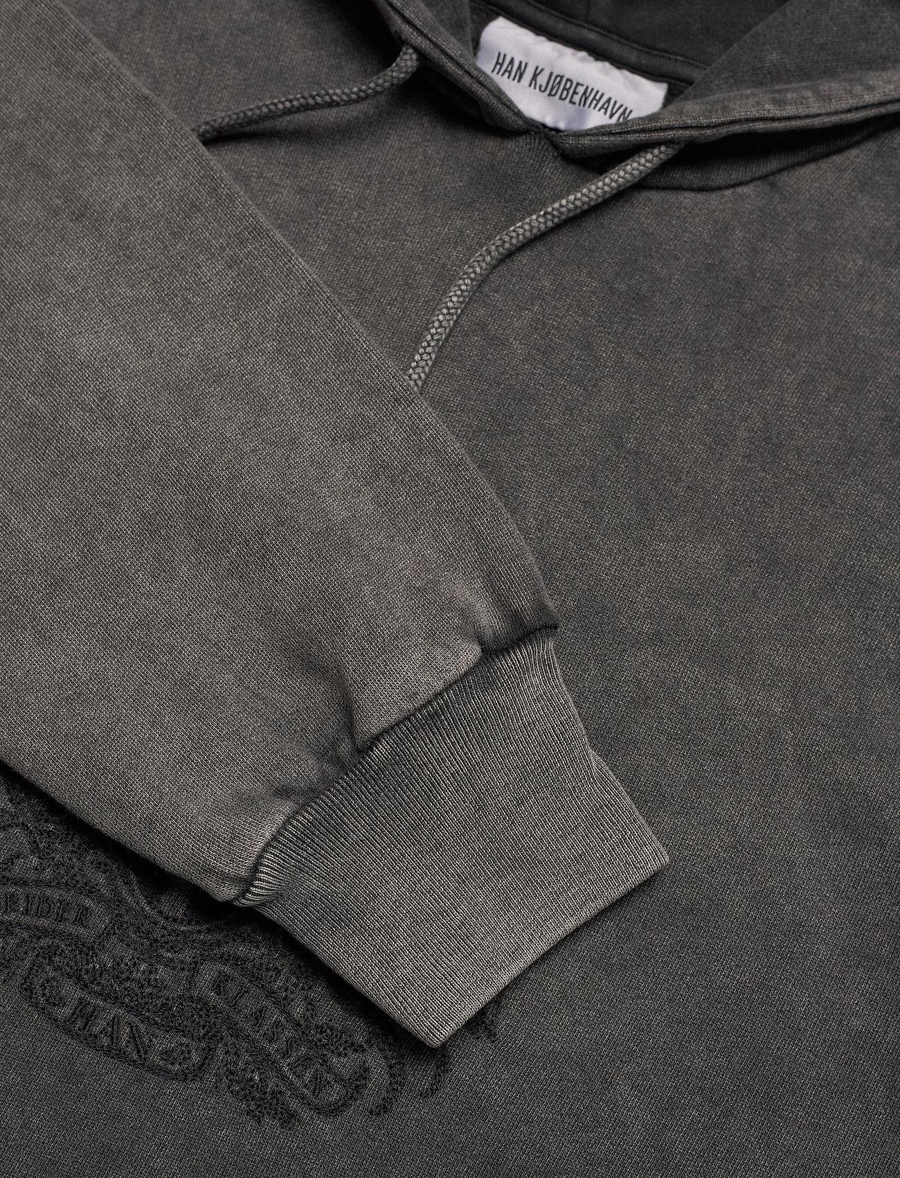 HAN Kjøbenhavn - Artwork Hoodie - hoodies - faded dark grey - 2