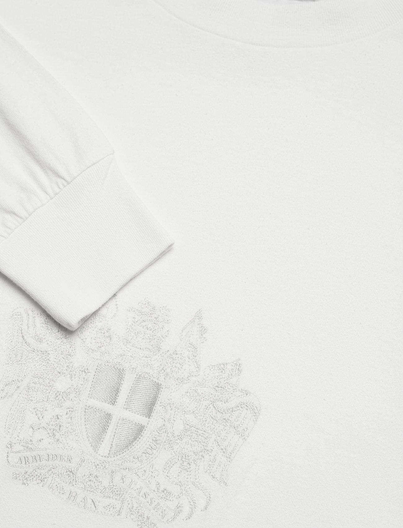 HAN Kjøbenhavn - Boxy Long Sleeve Tee - lange mouwen - off white - 2