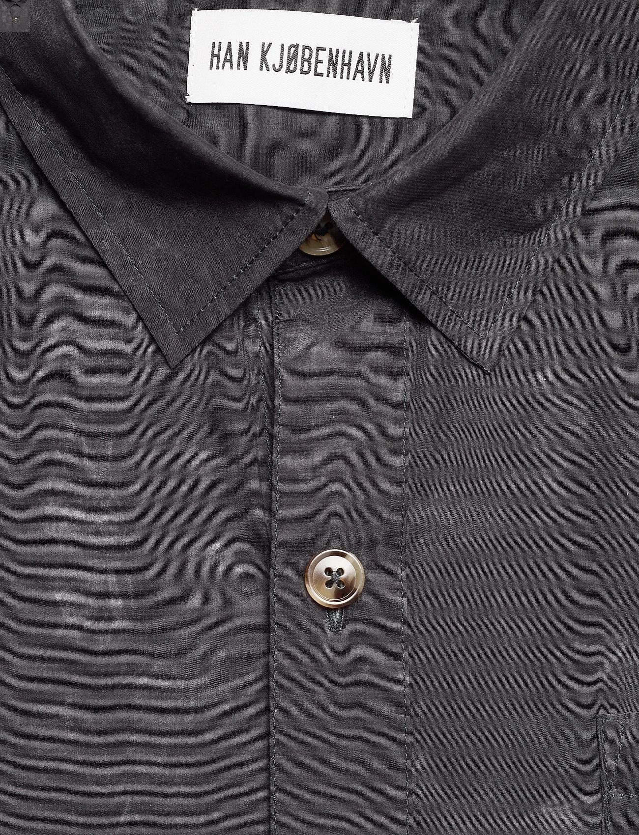 HAN Kjøbenhavn - Boxy Shirt - casual overhemden - black - 2