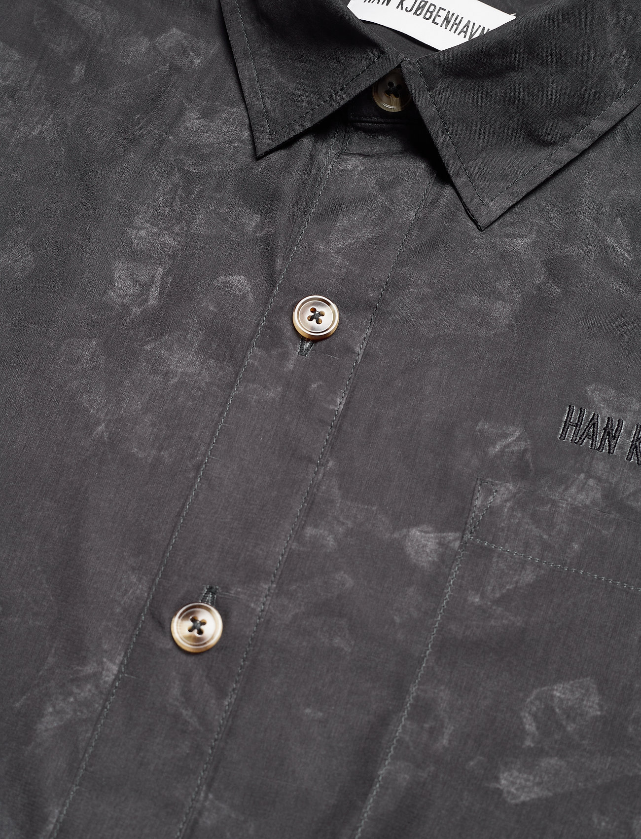 HAN Kjøbenhavn - Boxy Shirt - casual overhemden - black - 3