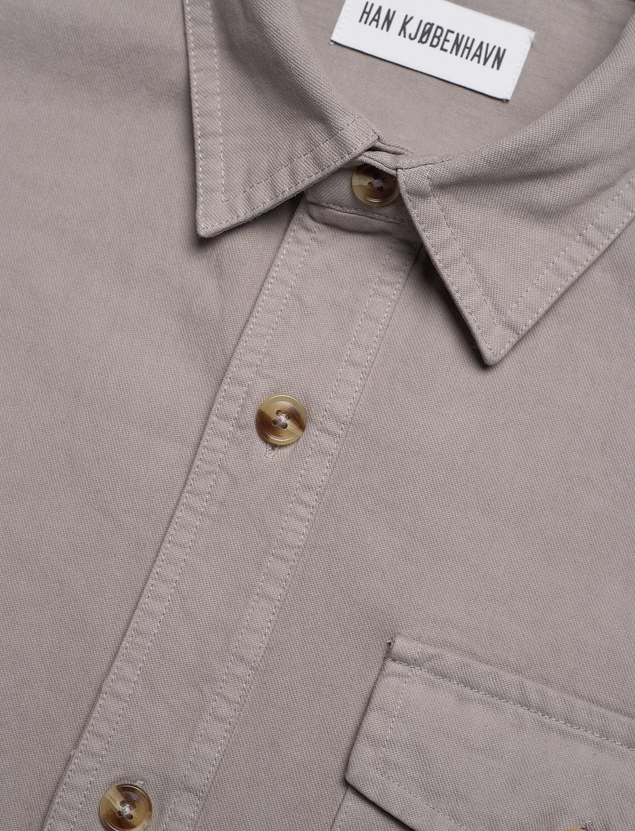 HAN Kjøbenhavn - Army Shirt - kleding - grey - 3
