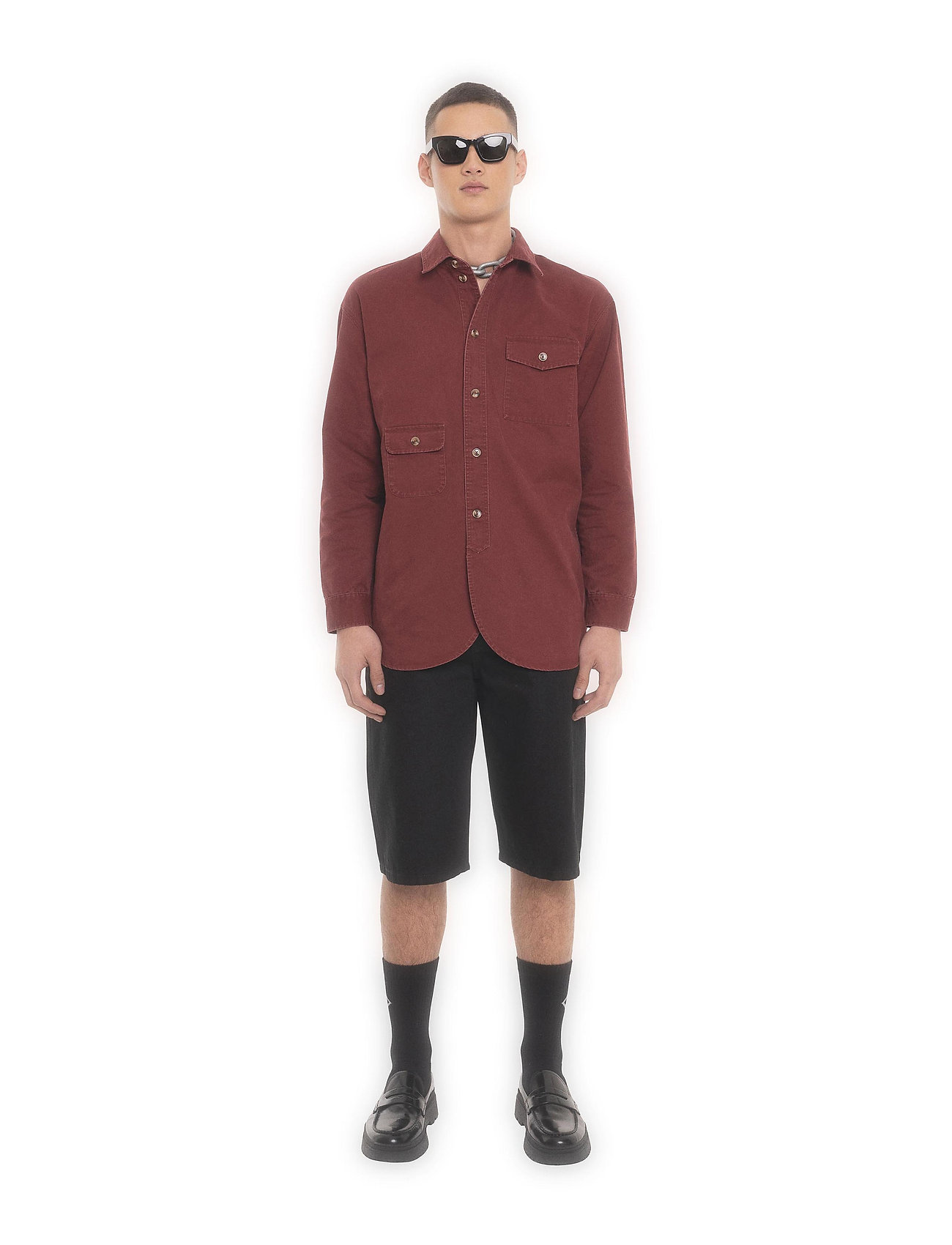 HAN Kjøbenhavn - Army Shirt - kleding - grey - 0