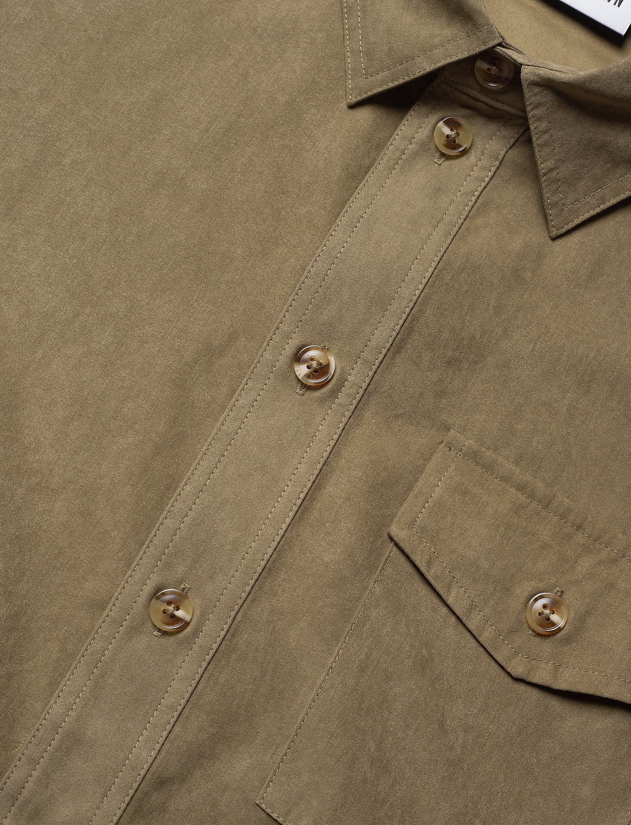 HAN Kjøbenhavn - Army Shirt - tops - grey - 6