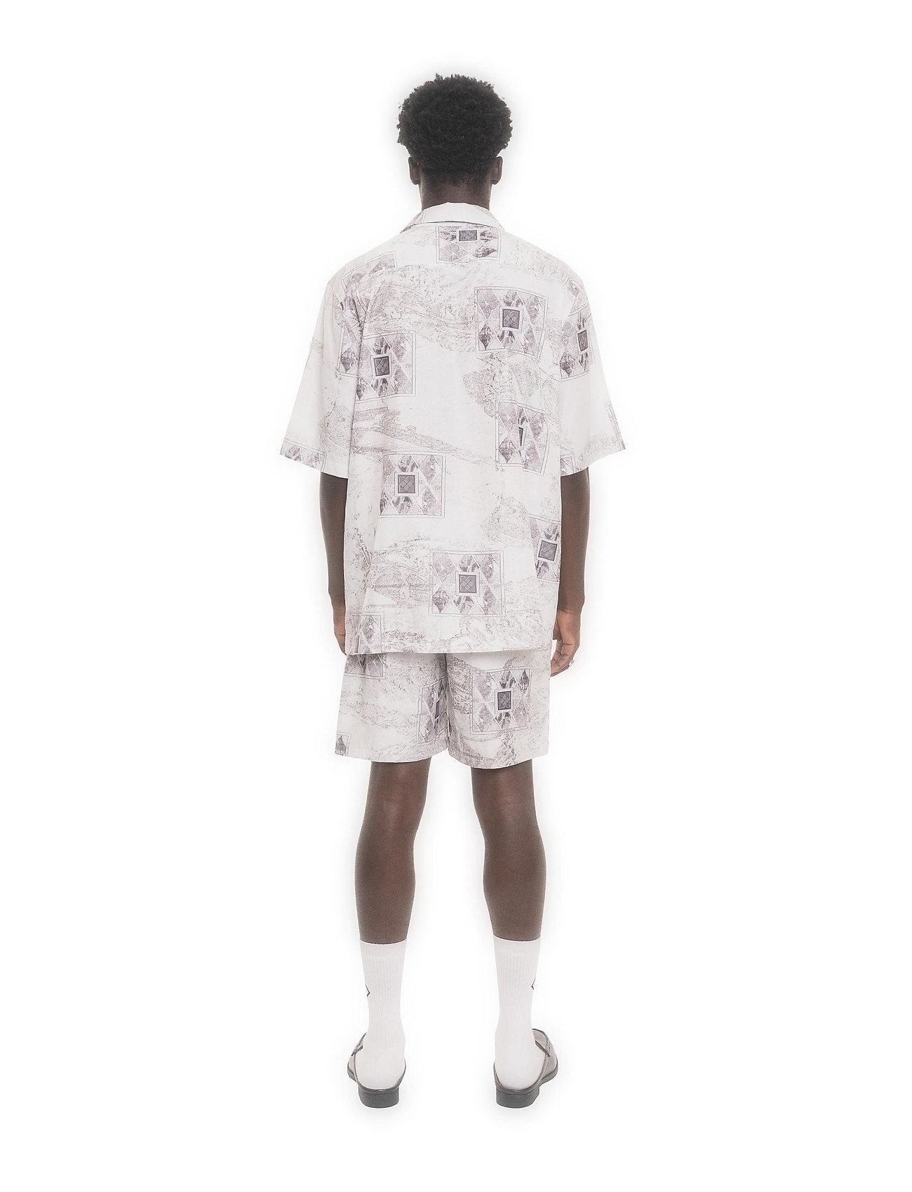 HAN Kjøbenhavn - Boxy Shirt SS - overhemden korte mouwen - bleach diamond - 4
