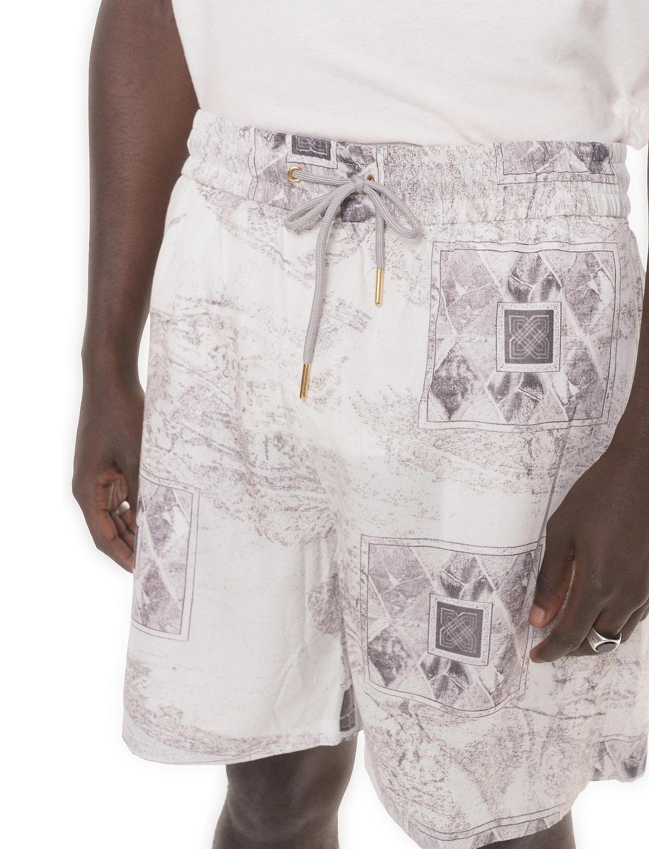 HAN Kjøbenhavn - Track Shorts - casual shorts - bleach diamond - 4