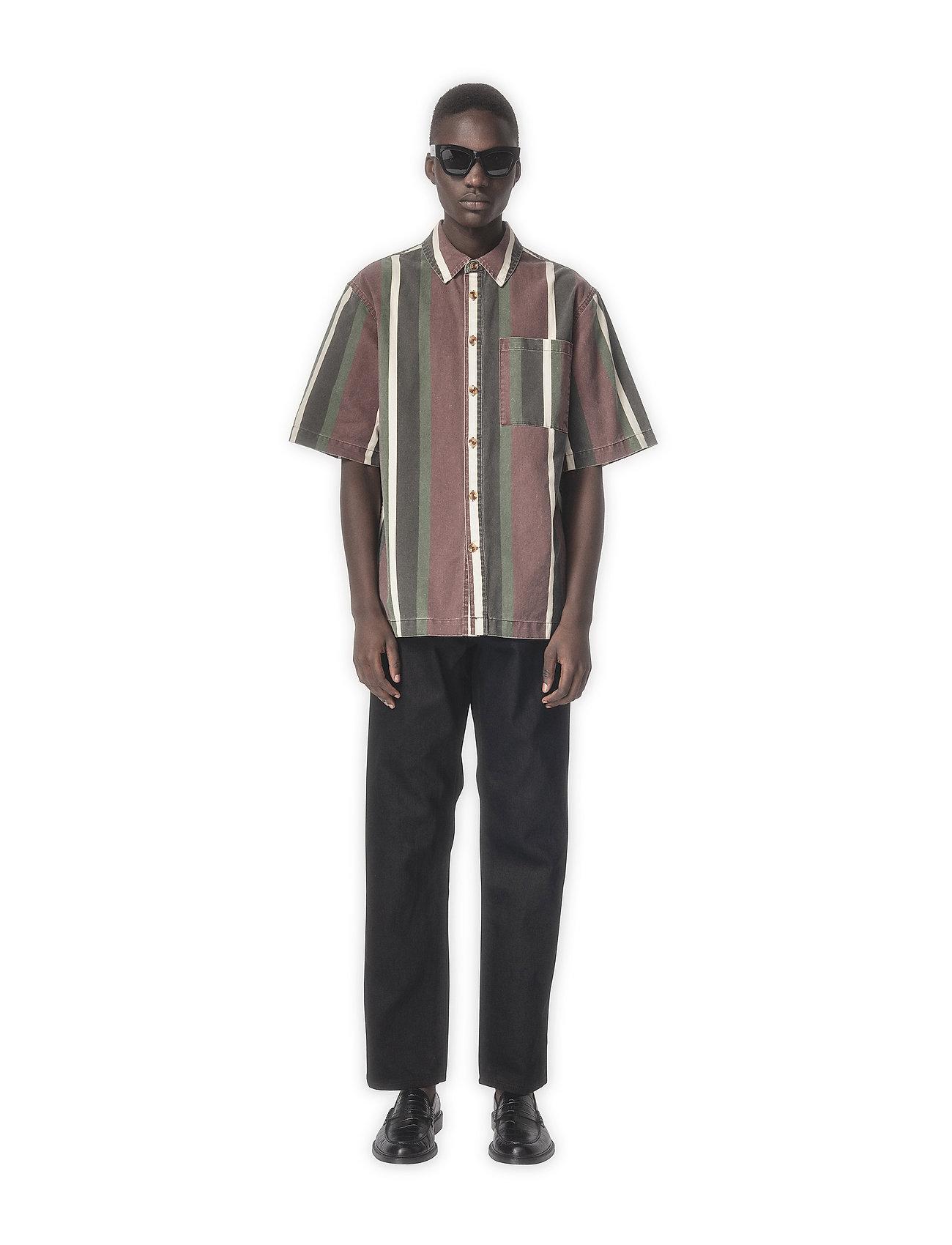 HAN Kjøbenhavn - Boxy Shirt SS - overhemden korte mouwen - grey - 0