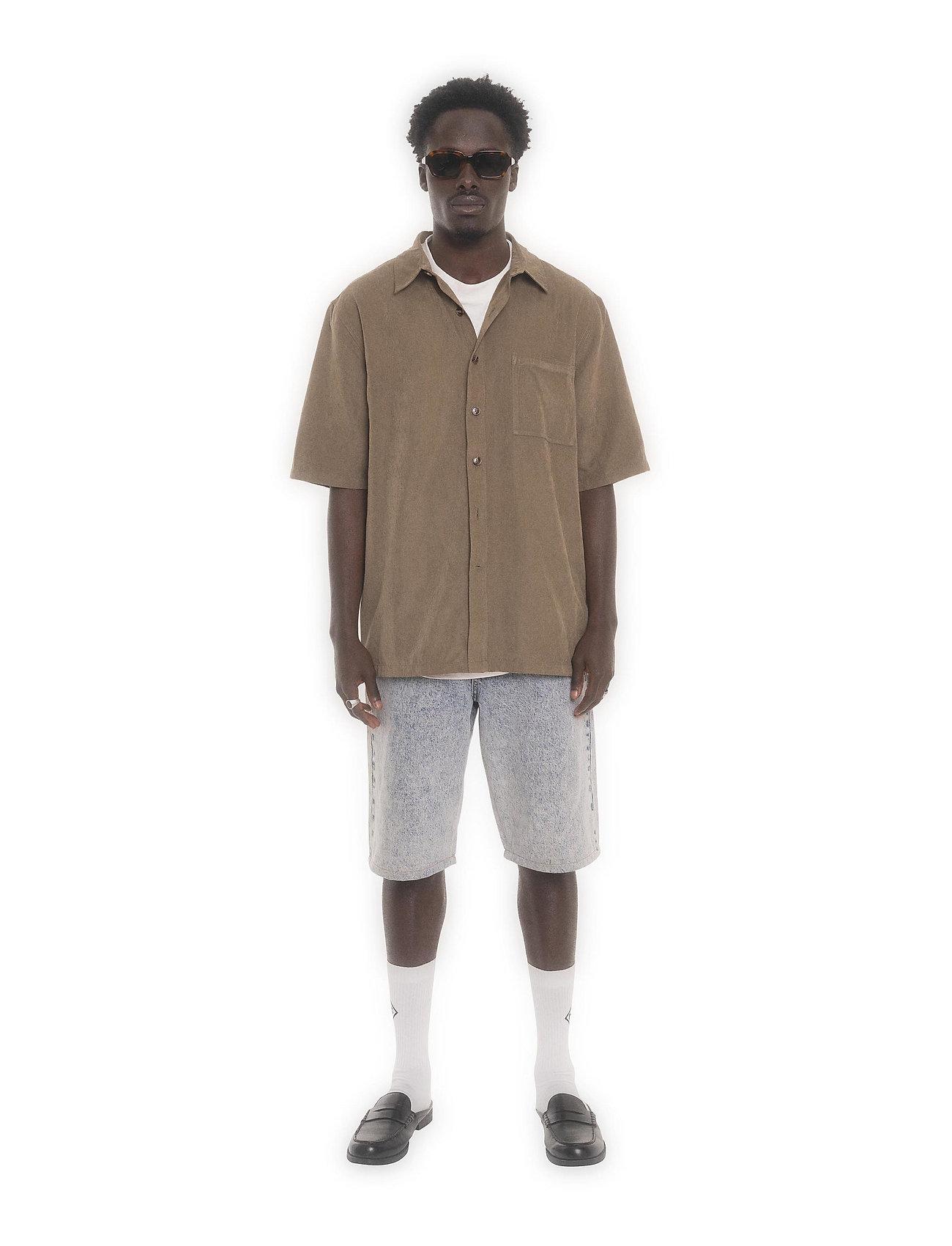 HAN Kjøbenhavn - Boxy Shirt SS - basic overhemden - grey - 0