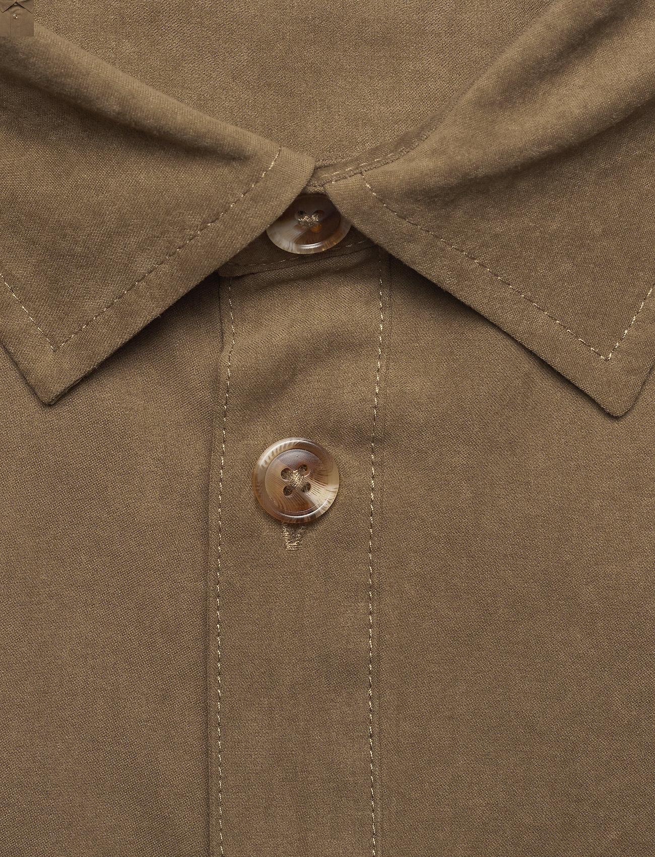 HAN Kjøbenhavn - Boxy Shirt SS - basic overhemden - grey - 5