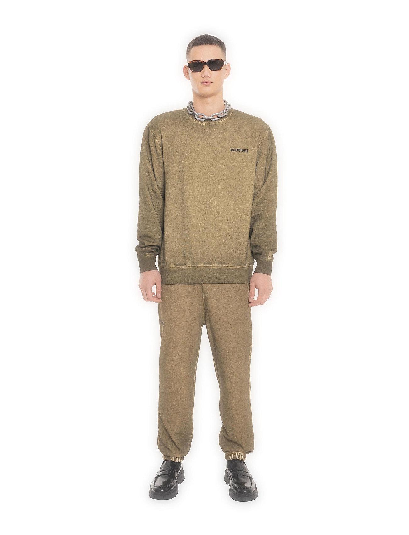 HAN Kjøbenhavn - Casual Crew - basic sweatshirts - green crush - 0