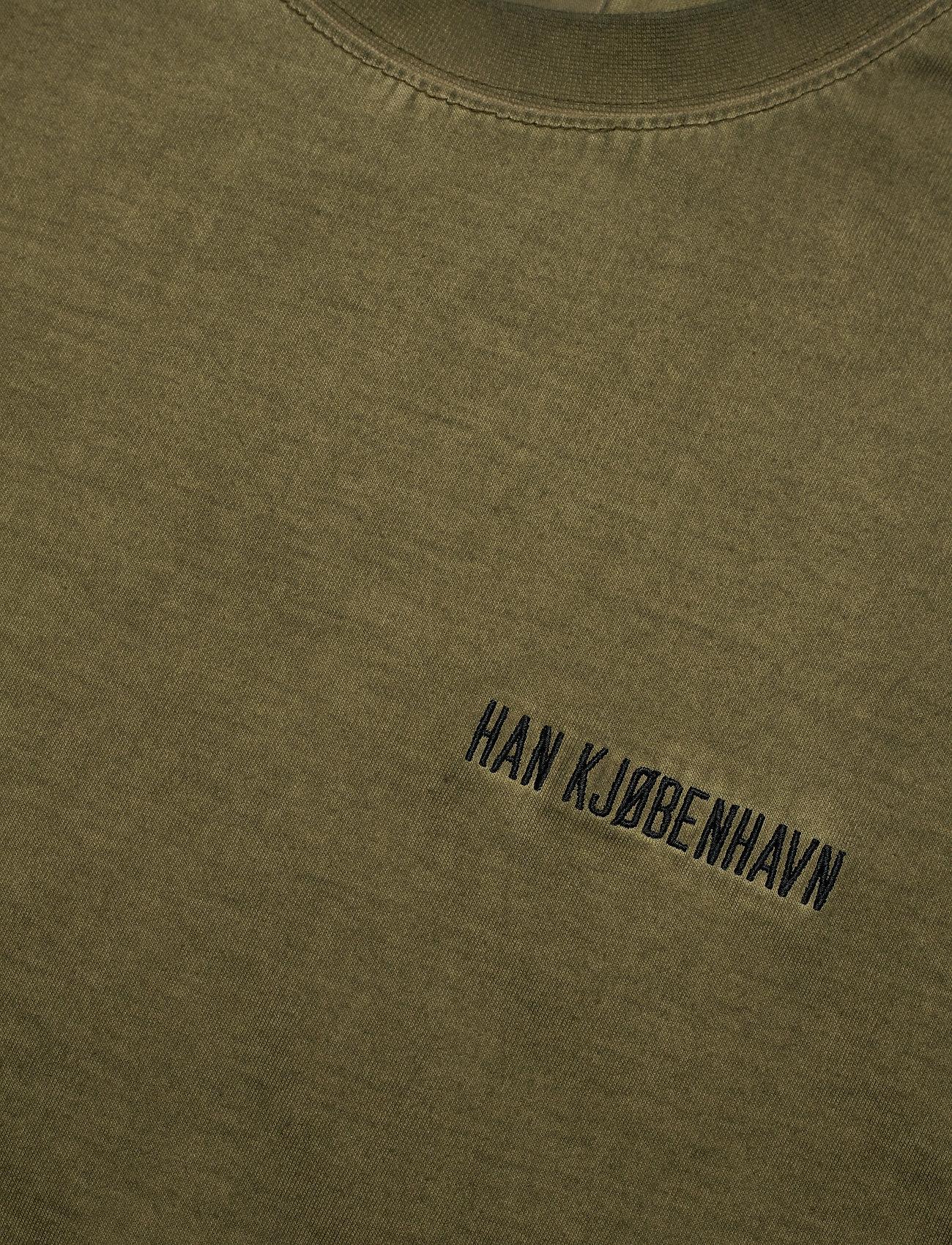 HAN Kjøbenhavn - Casual Tee - basic t-shirts - green crush - 5