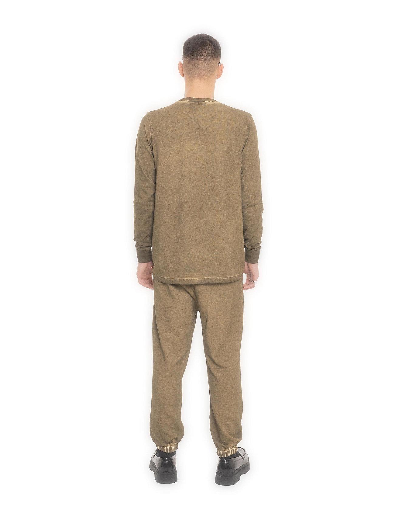 HAN Kjøbenhavn - Casual Long Sleeve Tee - basic t-shirts - green crush - 4
