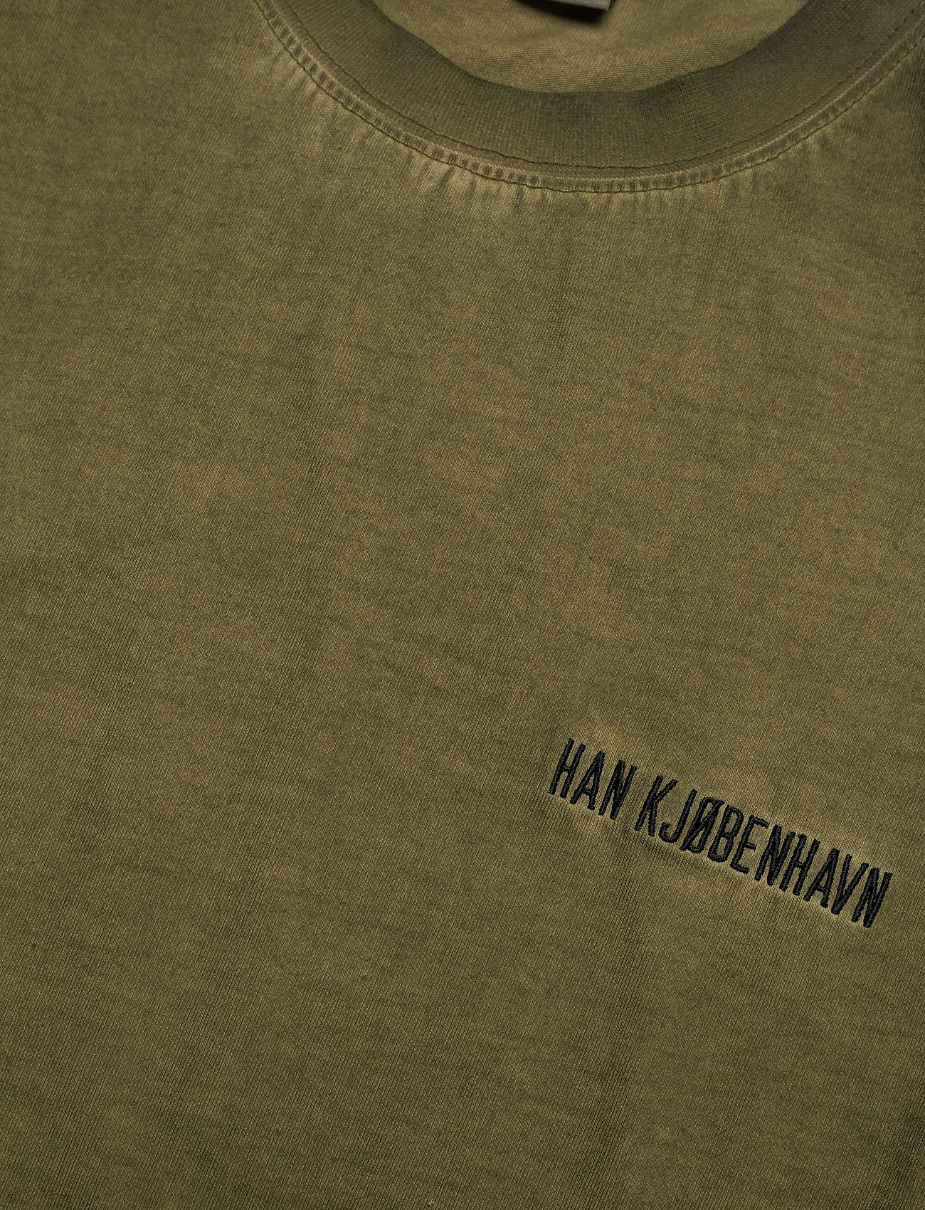 HAN Kjøbenhavn - Casual Long Sleeve Tee - basic t-shirts - green crush - 5
