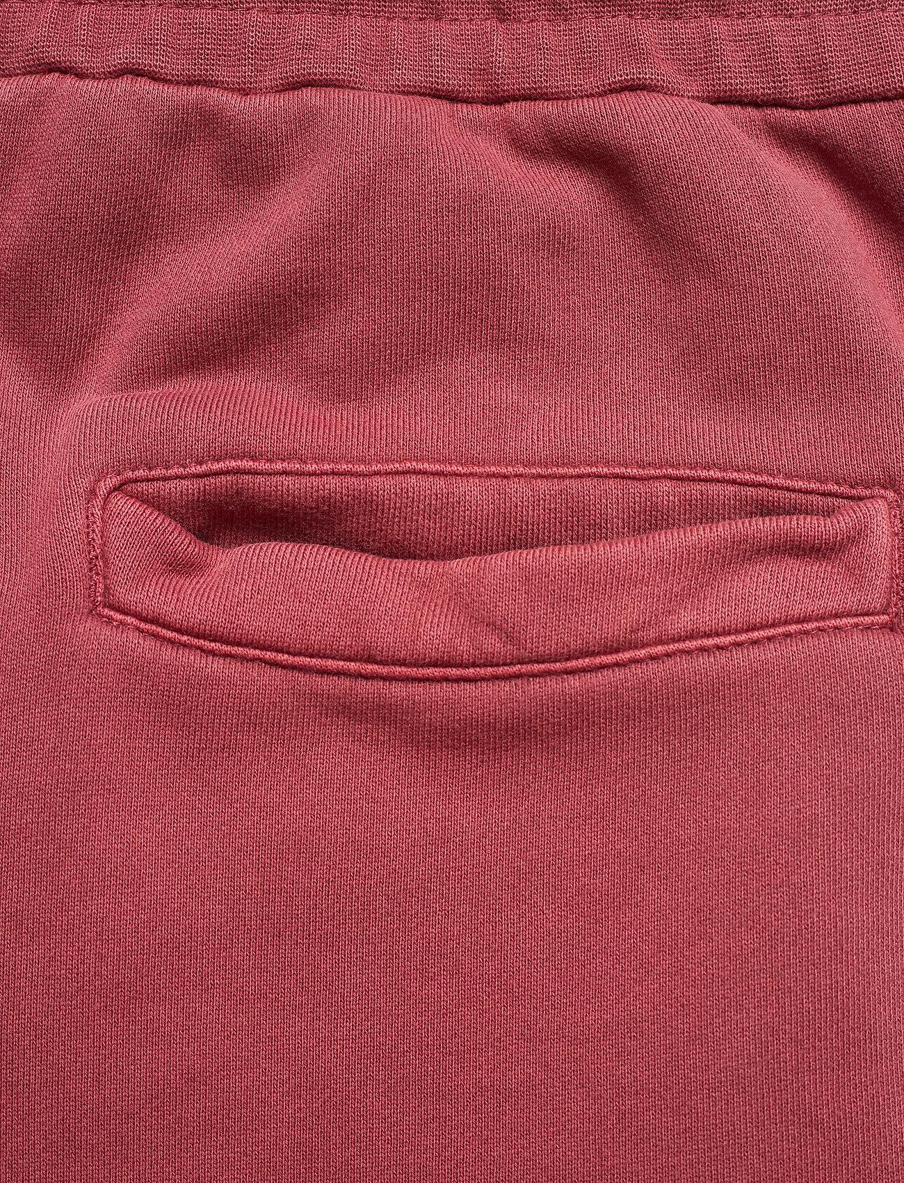 HAN Kjøbenhavn - Sweat Shorts - casual shorts - faded dark red - 7