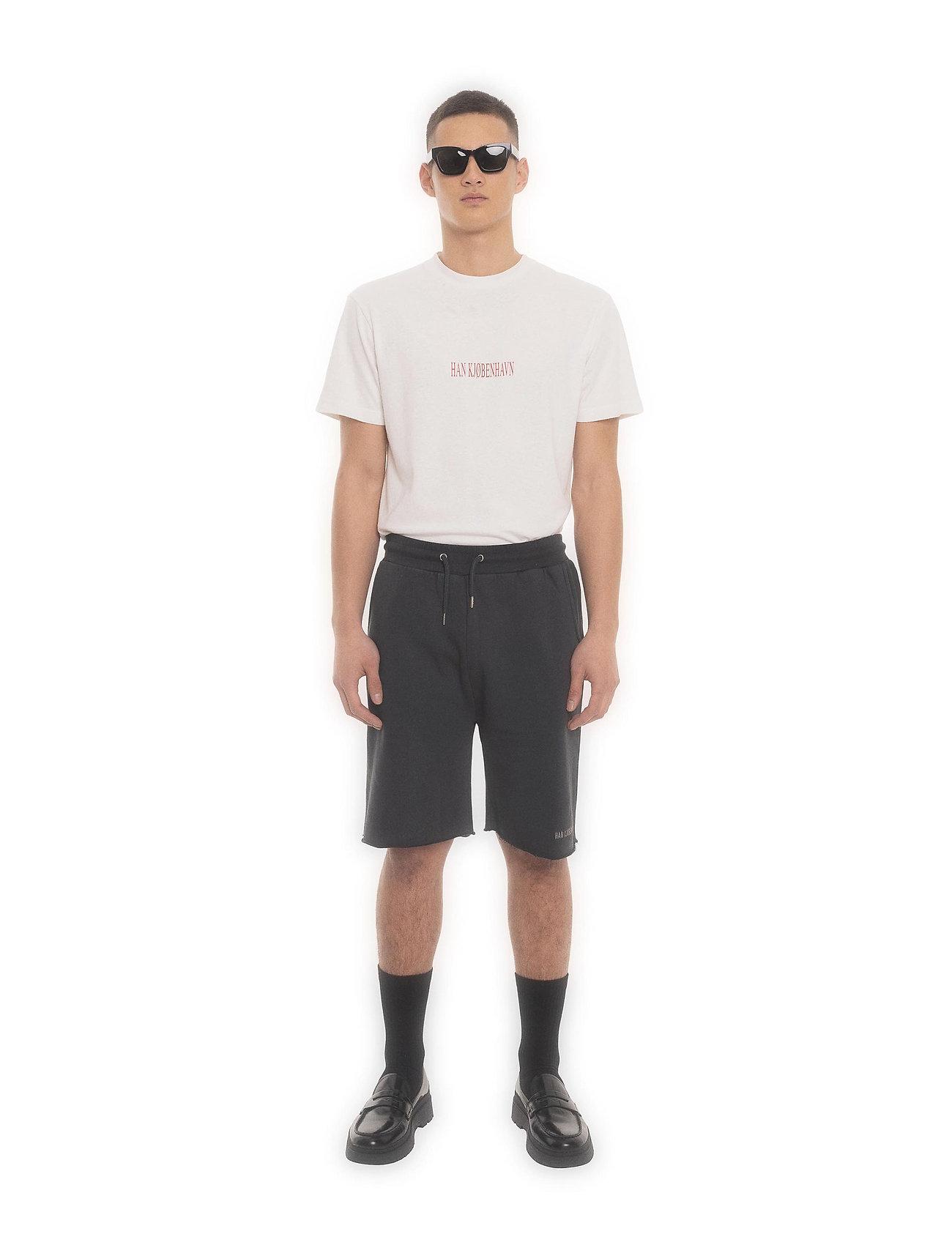 HAN Kjøbenhavn - Sweat Shorts - casual shorts - faded black - 0