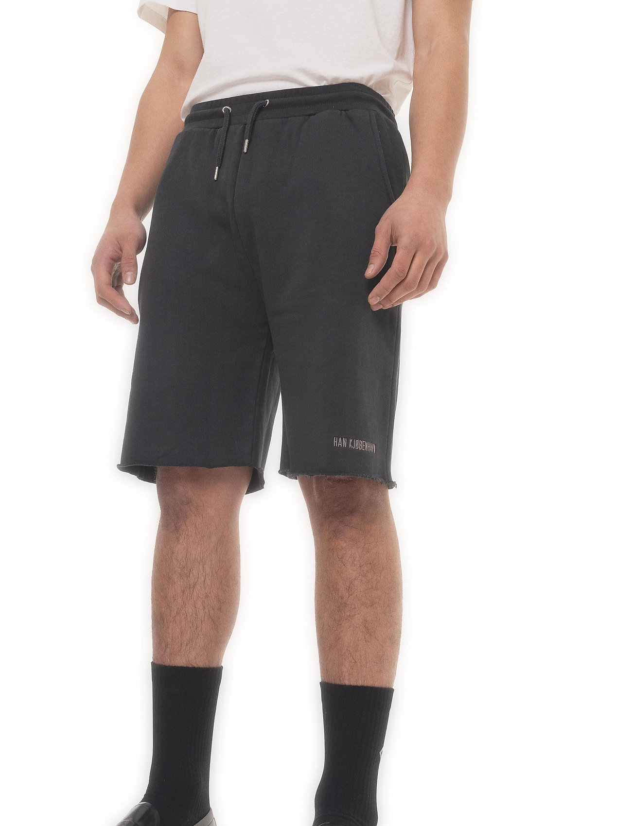 HAN Kjøbenhavn - Sweat Shorts - casual shorts - faded black - 4