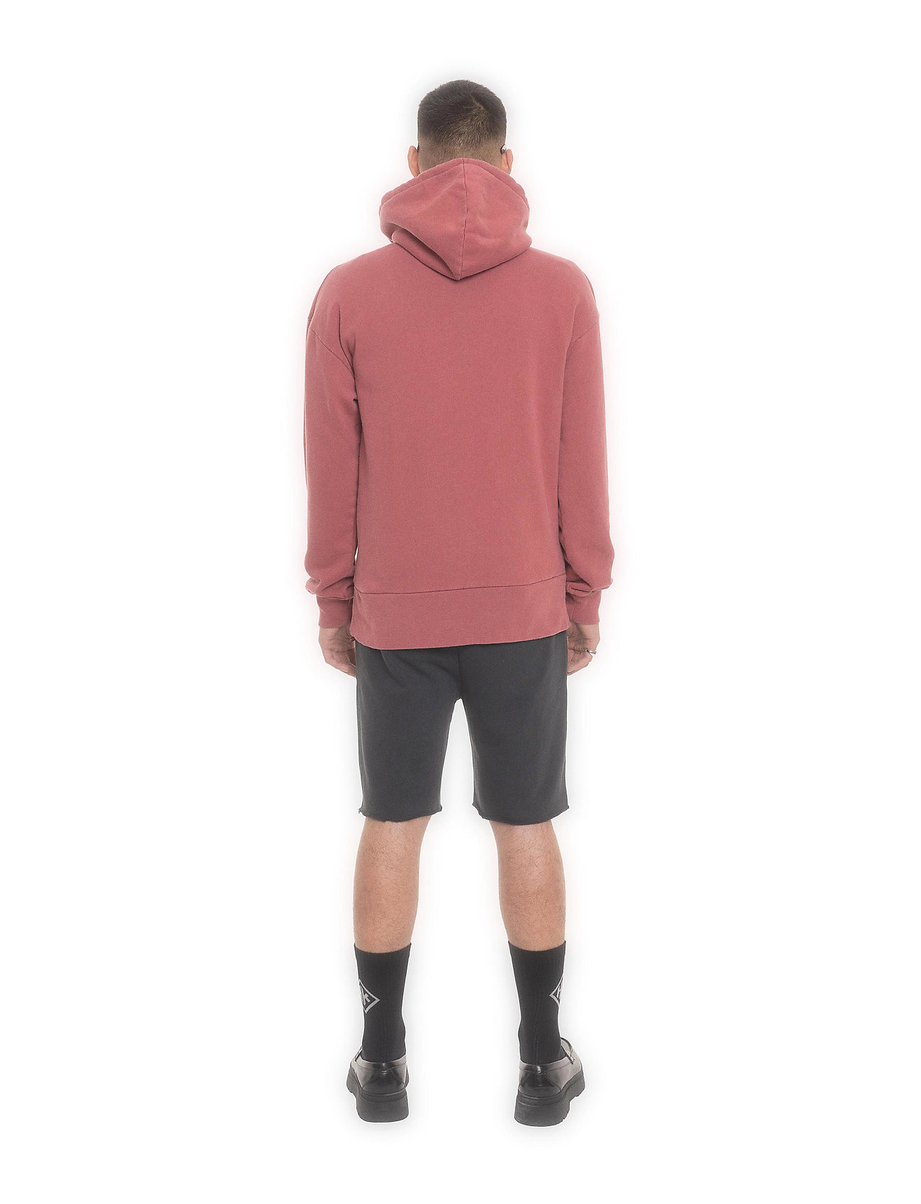 HAN Kjøbenhavn - Bulky Hoodie - hoodies - faded dark red hk - 3