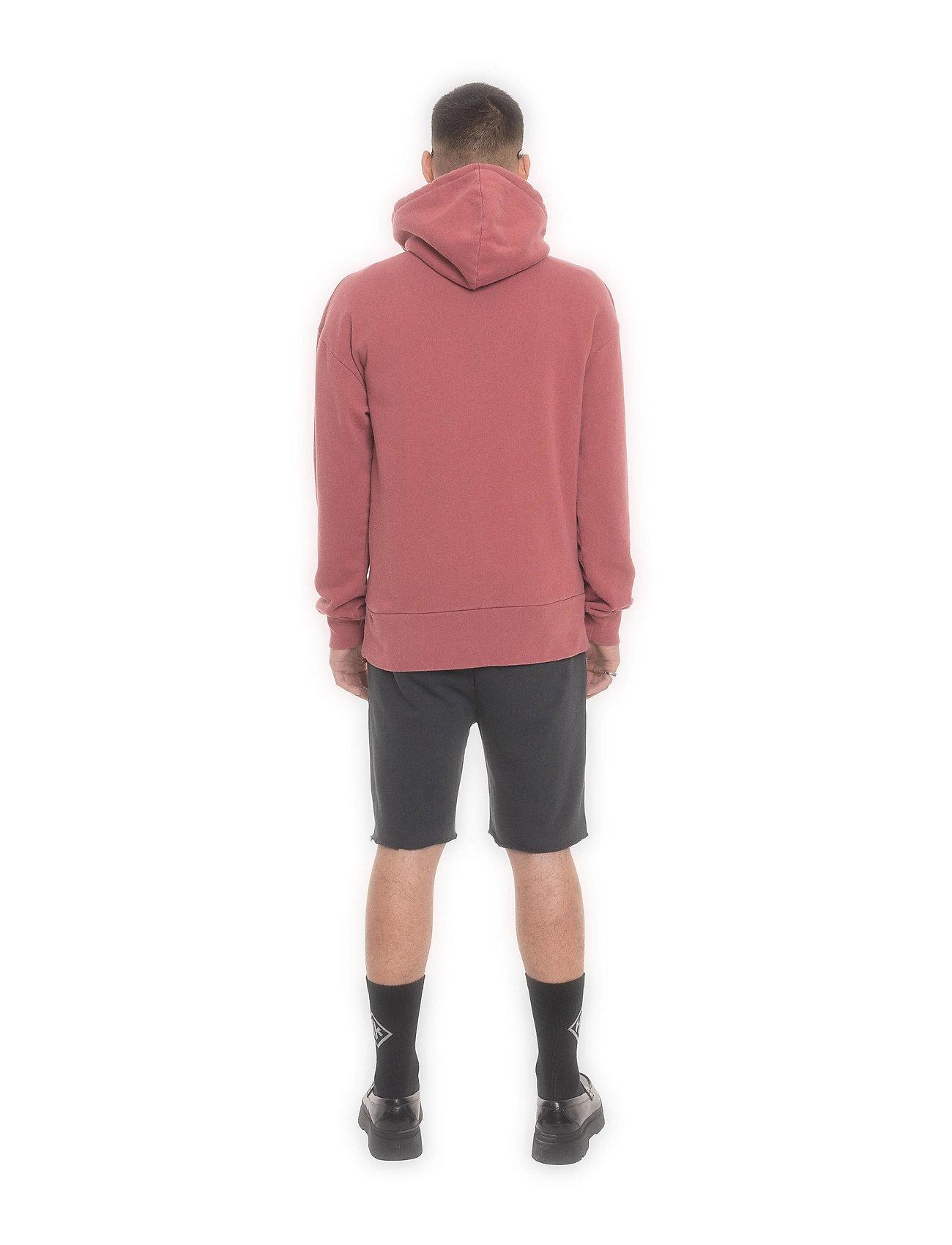 HAN Kjøbenhavn - Bulky Hoodie - hoodies - faded dark red hk - 4