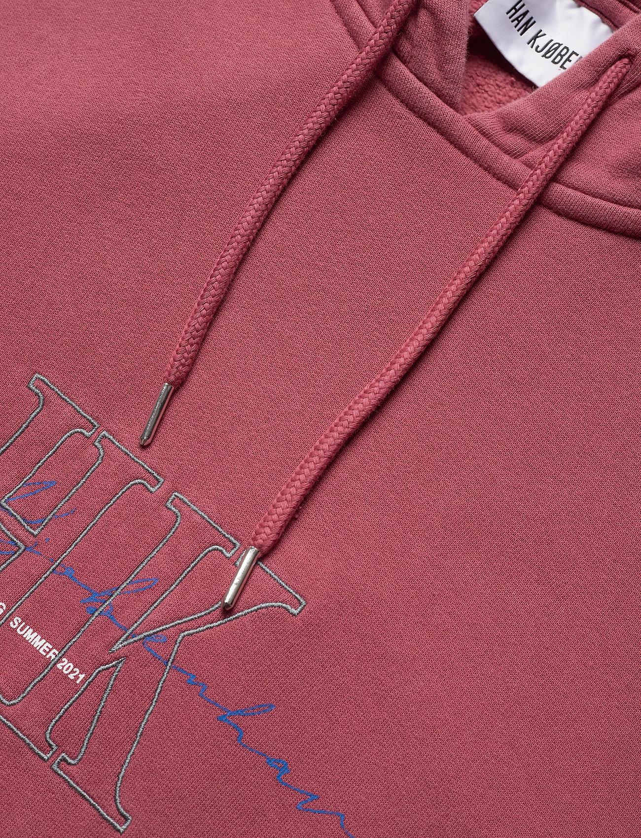 HAN Kjøbenhavn - Bulky Hoodie - hoodies - faded dark red hk - 5