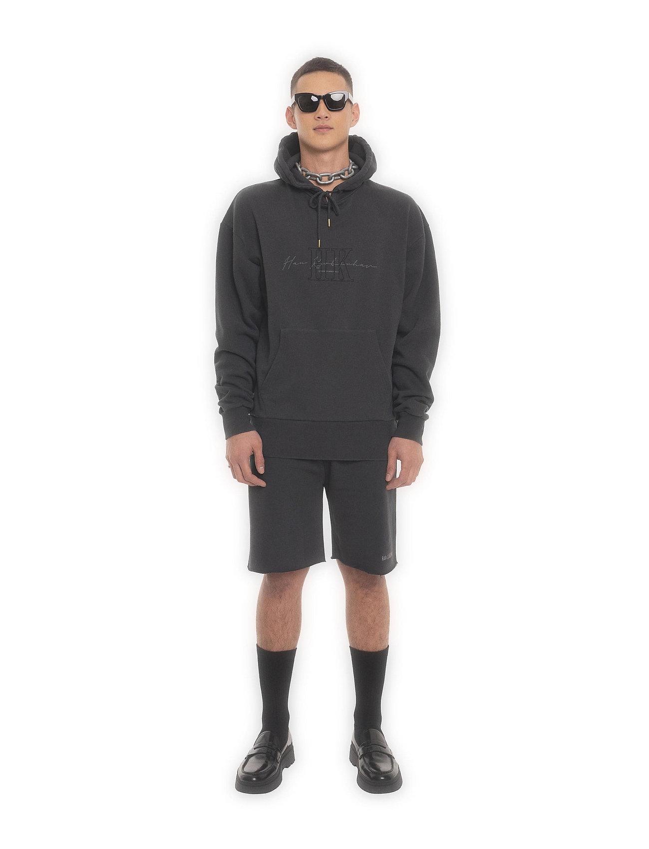 HAN Kjøbenhavn - Bulky Hoodie - hoodies - faded black hk - 0