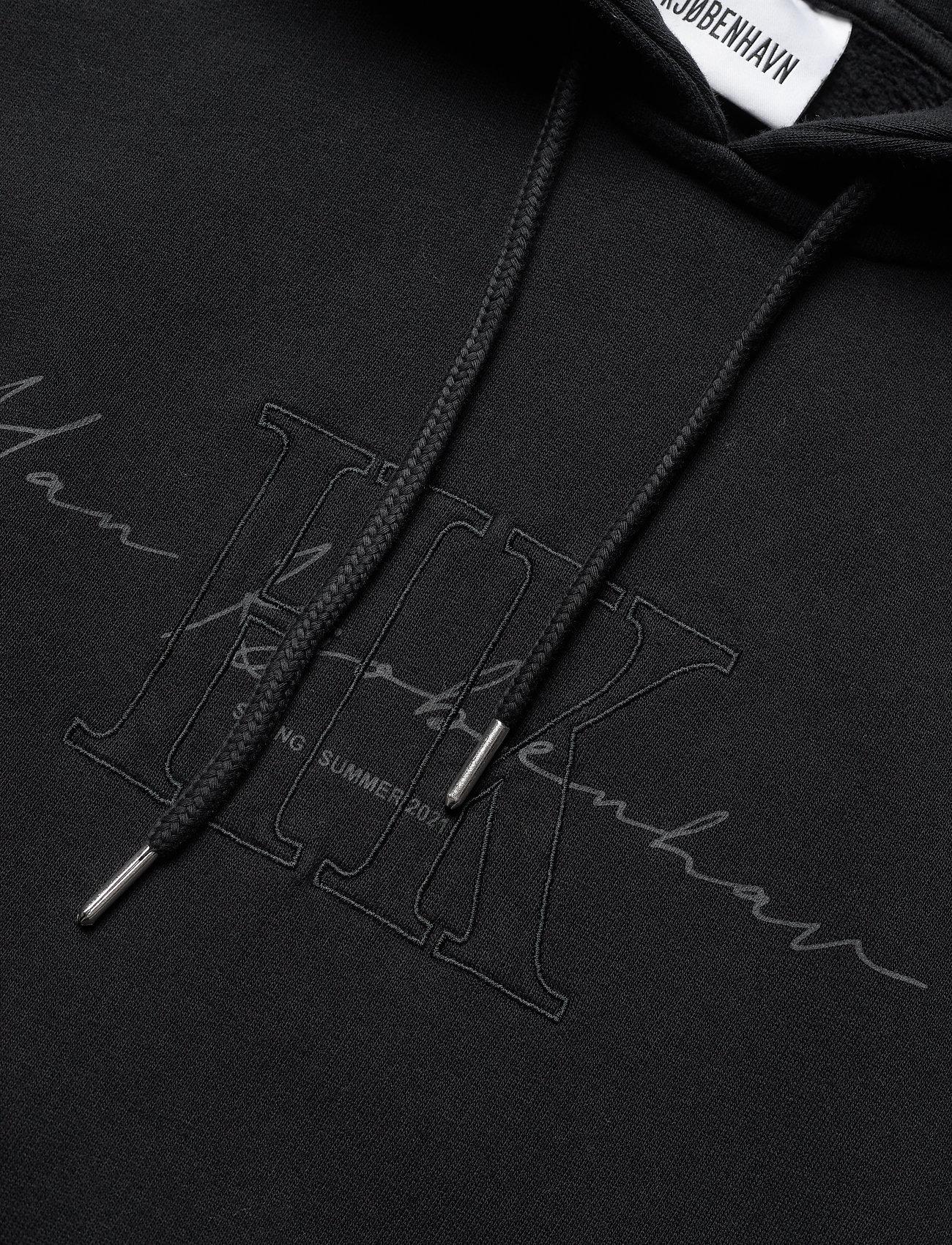 HAN Kjøbenhavn - Bulky Hoodie - hoodies - faded black hk - 5