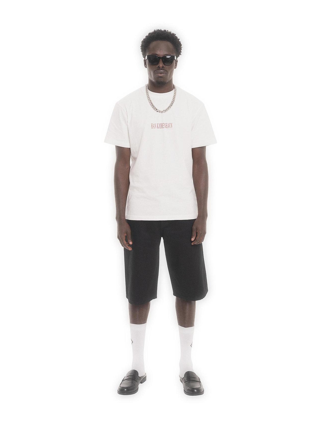 HAN Kjøbenhavn - Artwork Tee - basic t-shirts - off white tribal - 0