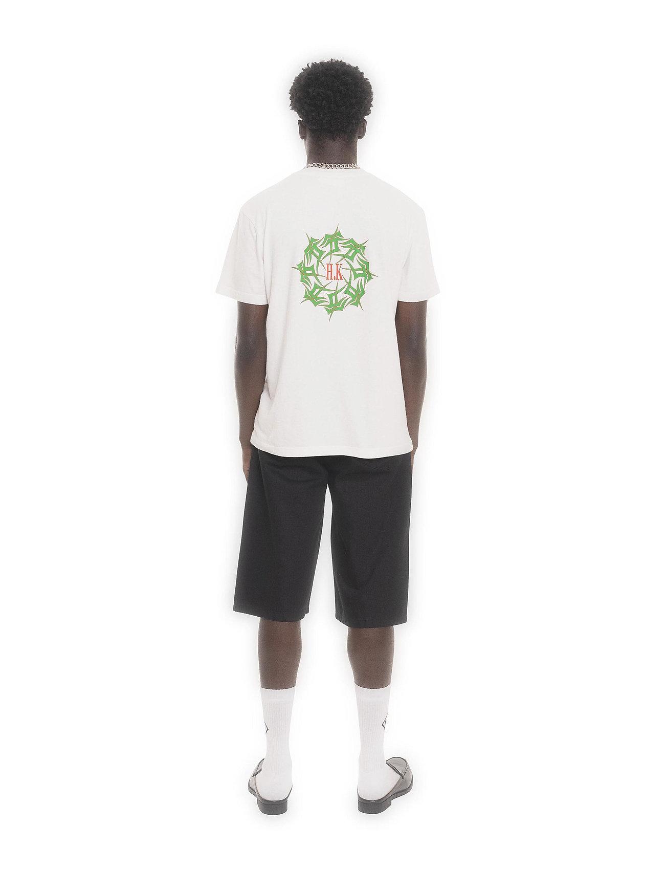 HAN Kjøbenhavn - Artwork Tee - basic t-shirts - off white tribal - 4