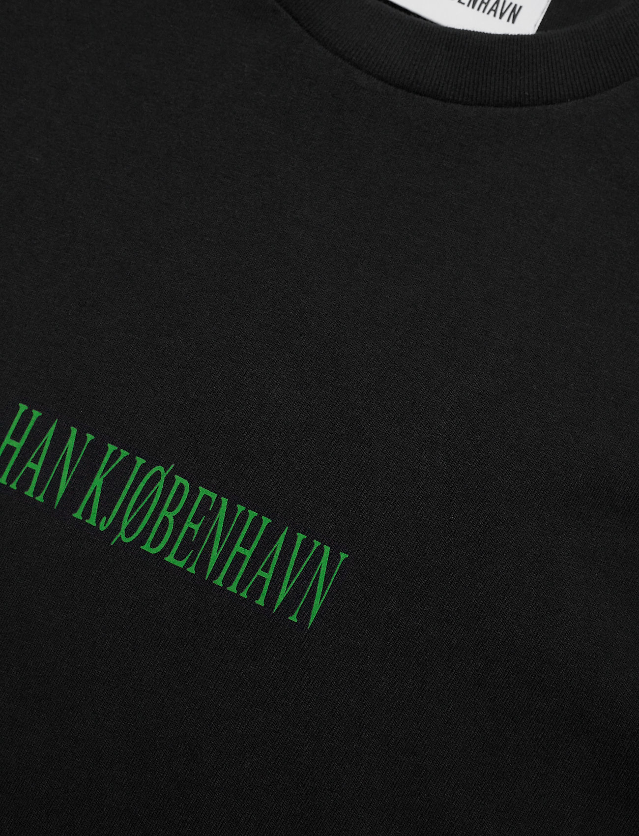 HAN Kjøbenhavn - Artwork Tee - basic t-shirts - faded black tribal - 2