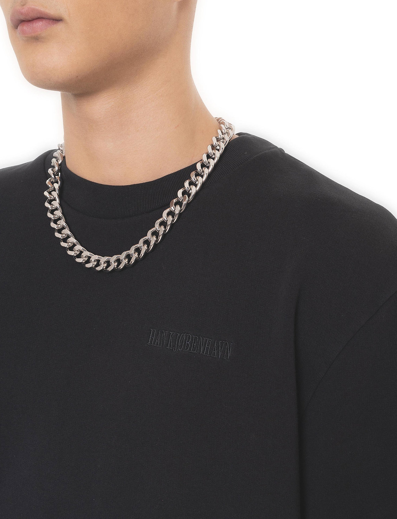 HAN Kjøbenhavn - Chunky Tee - basic t-shirts - faded black - 3