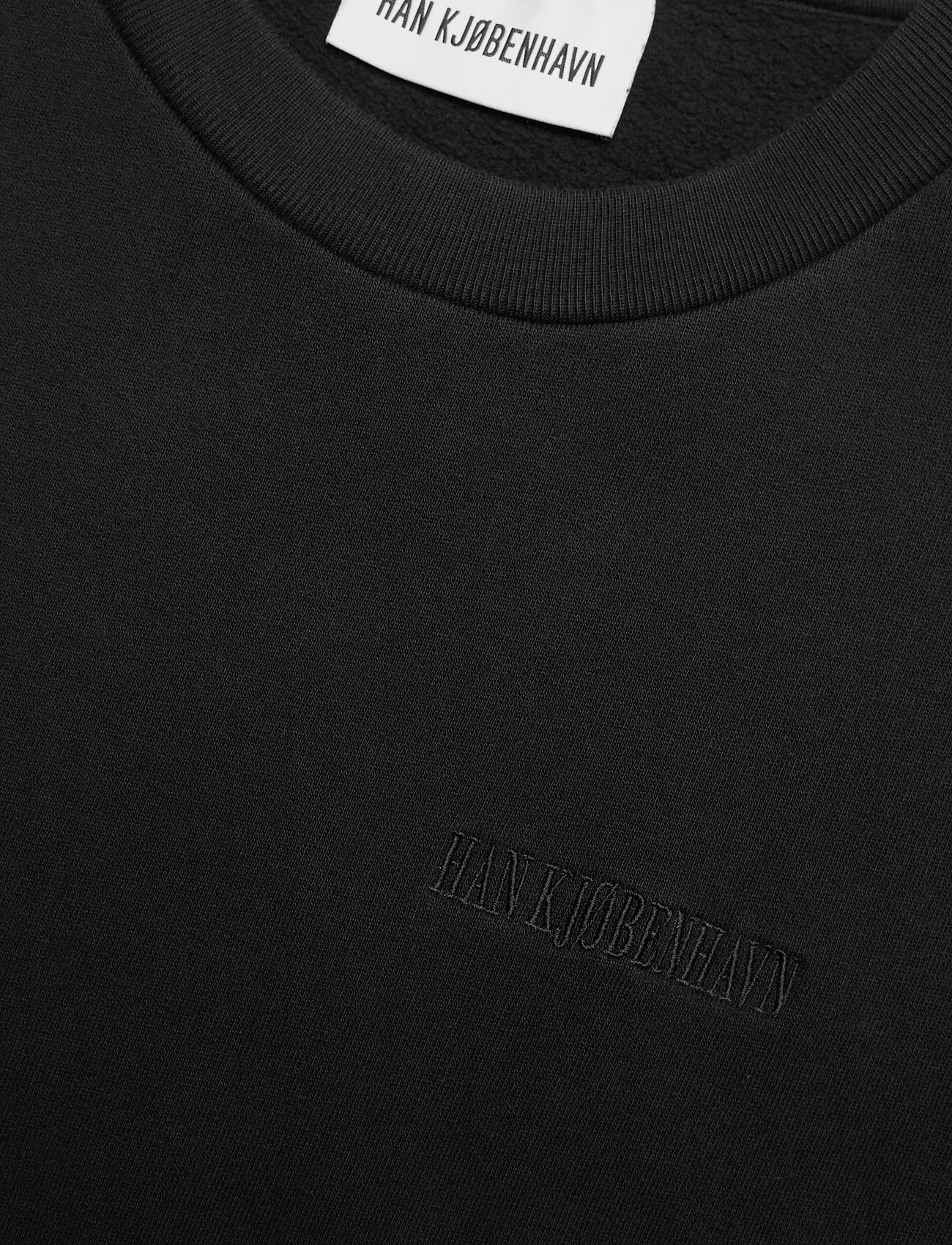HAN Kjøbenhavn - Chunky Tee - basic t-shirts - faded black - 5