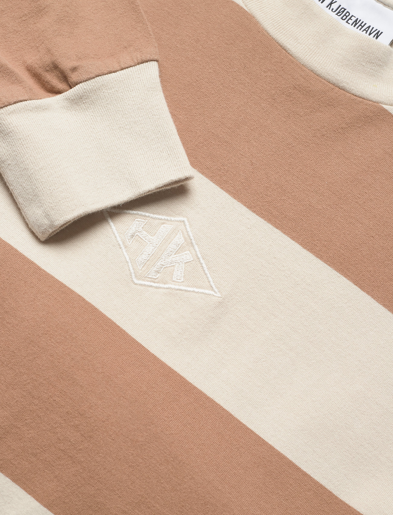 HAN Kjøbenhavn - Boxy Tee Long Sleeve - lange mouwen - off white stripe - 5