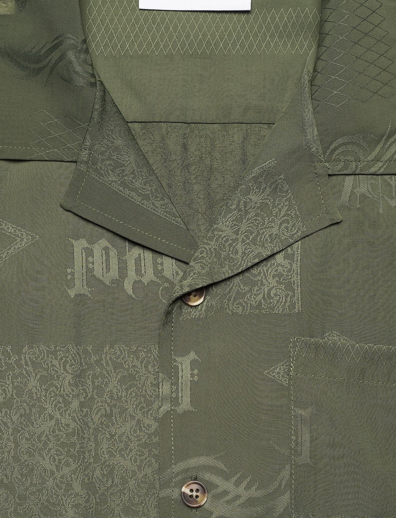 HAN Kjøbenhavn - Summer Shirt - overhemden korte mouwen - green tribal - 2