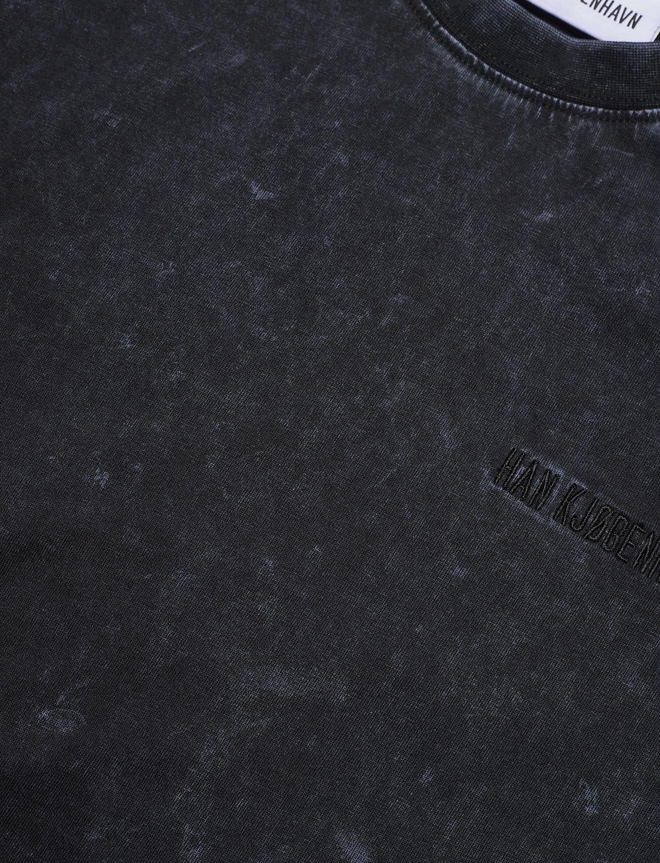 HAN Kjøbenhavn - Casual Tee - basic t-shirts - denim blue acid - 2
