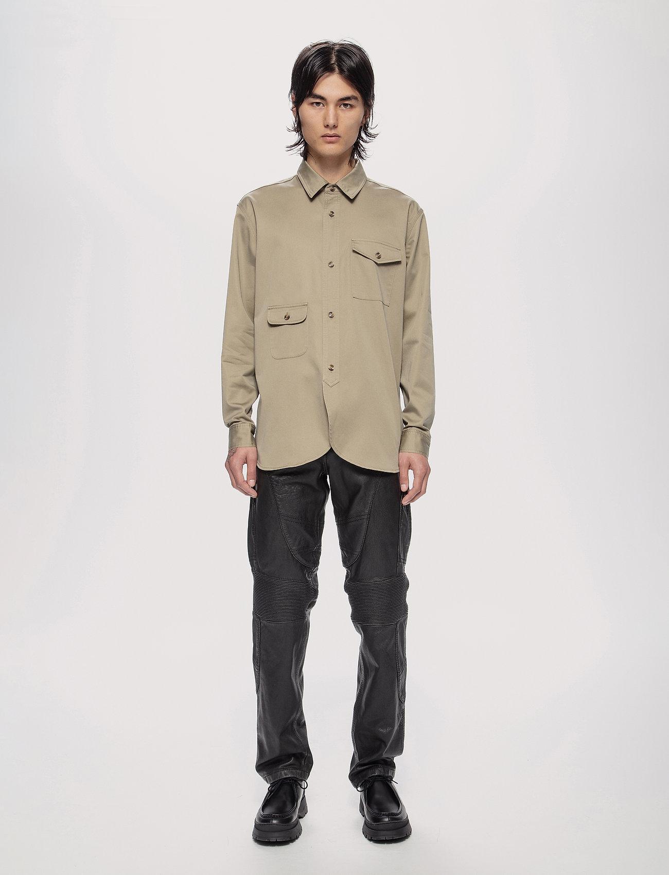 HAN Kjøbenhavn - Army Shirt - kleding - olive grey - 0