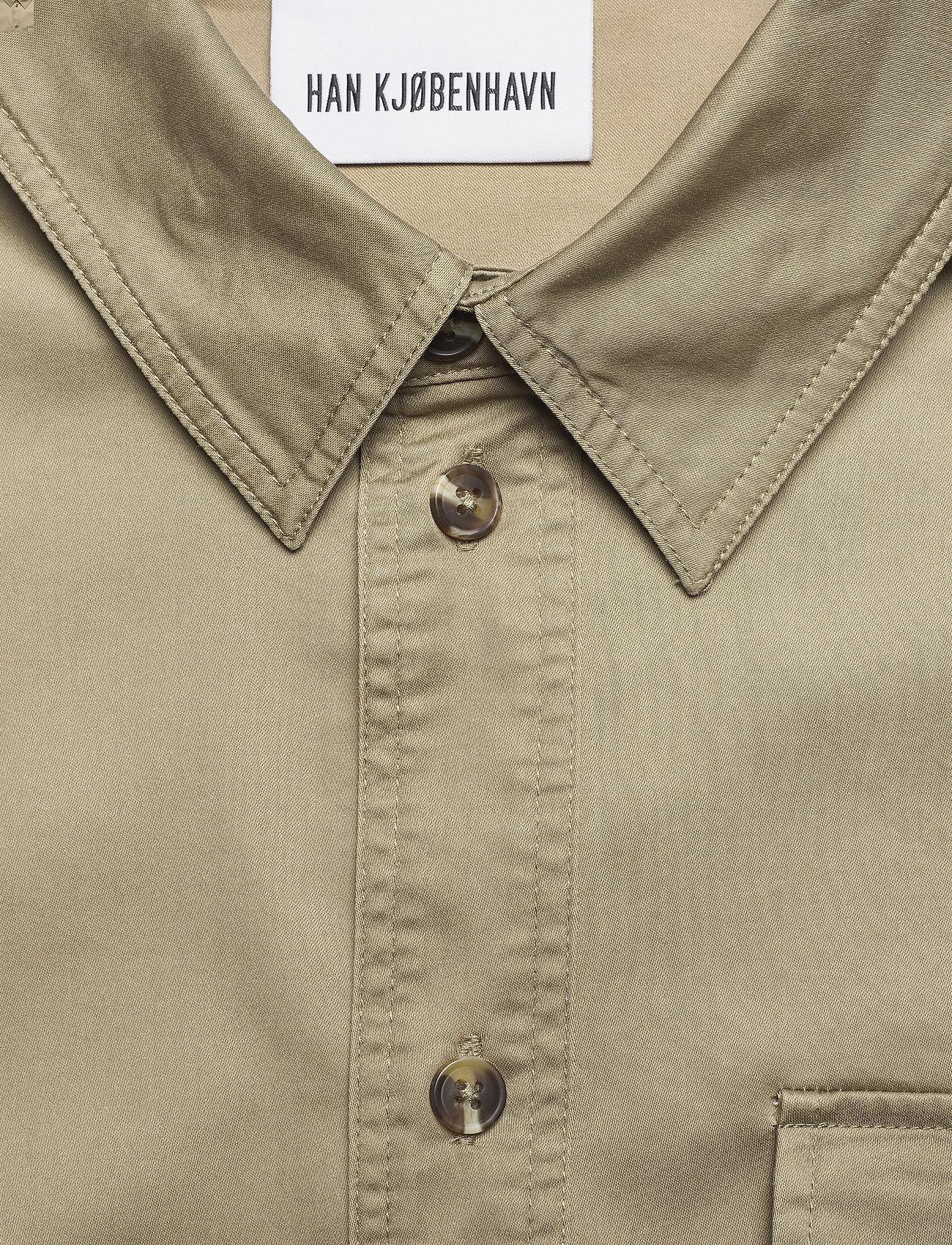 HAN Kjøbenhavn - Army Shirt - kleding - olive grey - 4
