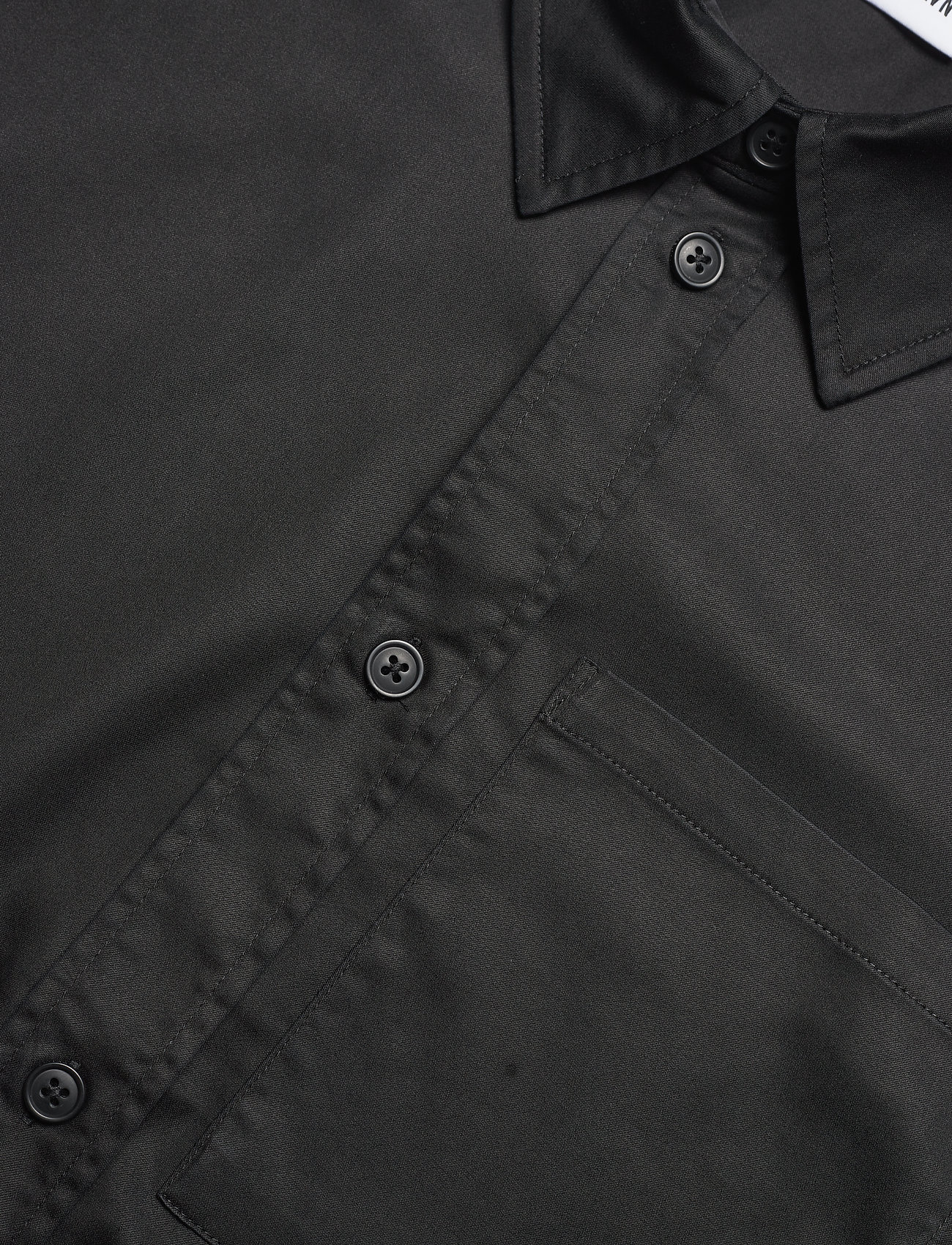 HAN Kjøbenhavn - Boxy Shirt SS - oxford overhemden - black - 4