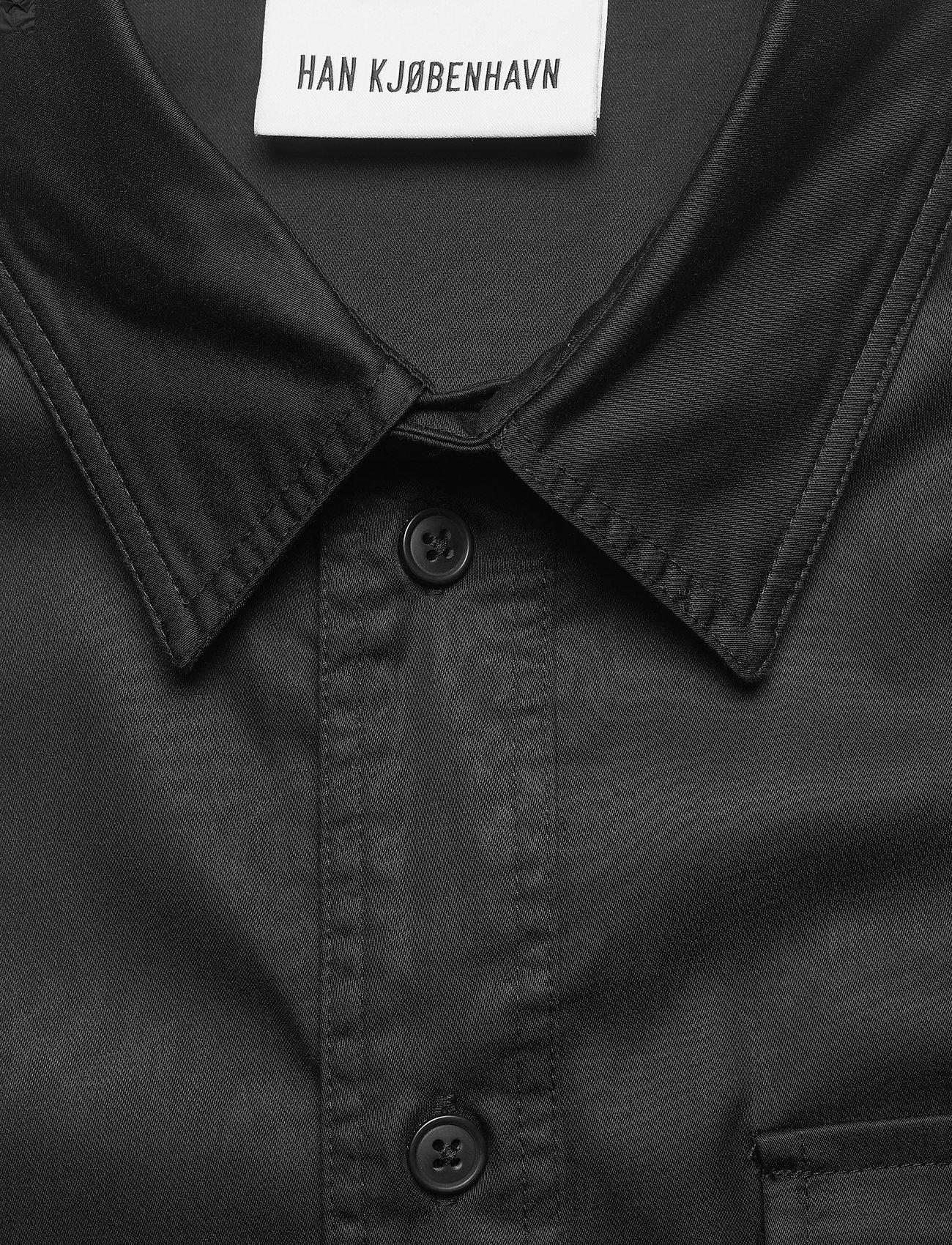 HAN Kjøbenhavn - Army Shirt - oxford overhemden - black - 3