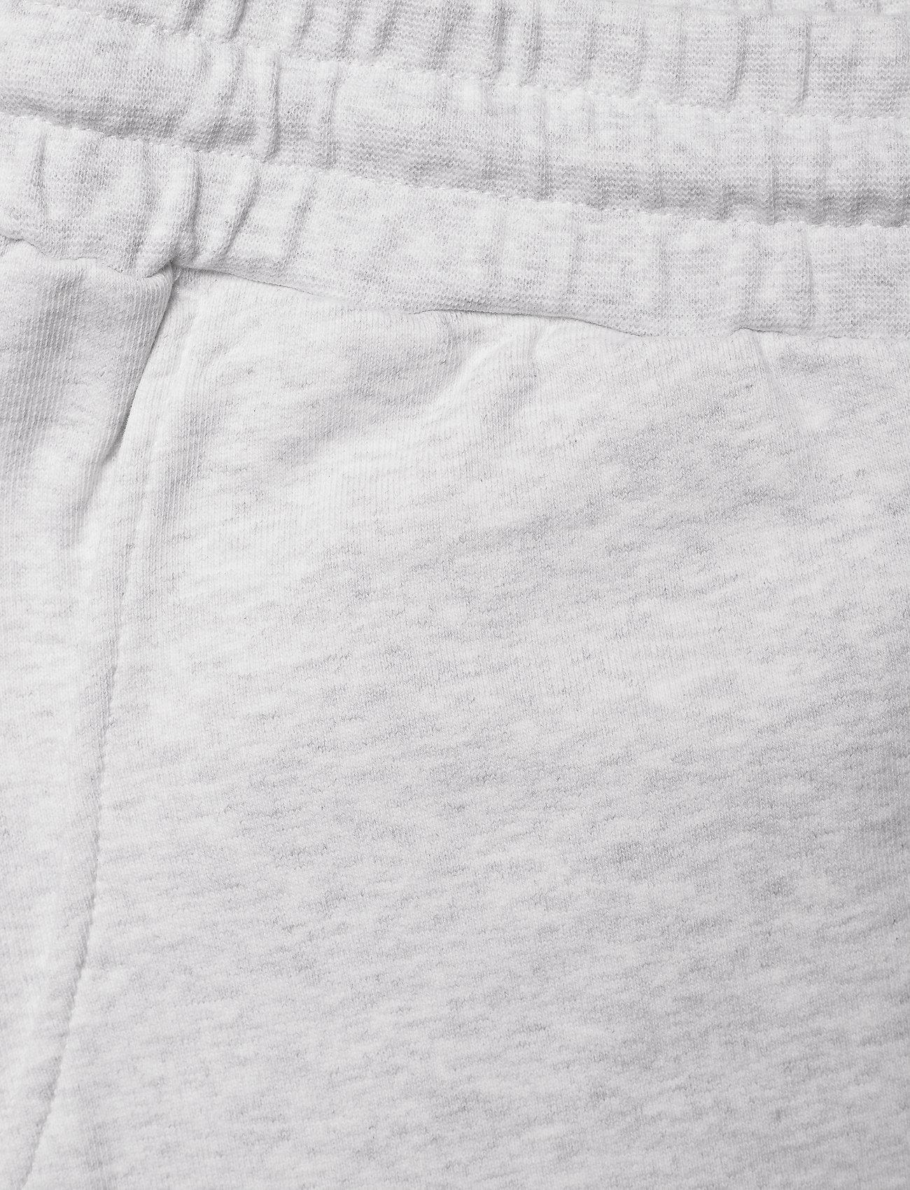 HAN Kjøbenhavn - Sweat shorts - casual shorts - light grey melange logo - 2