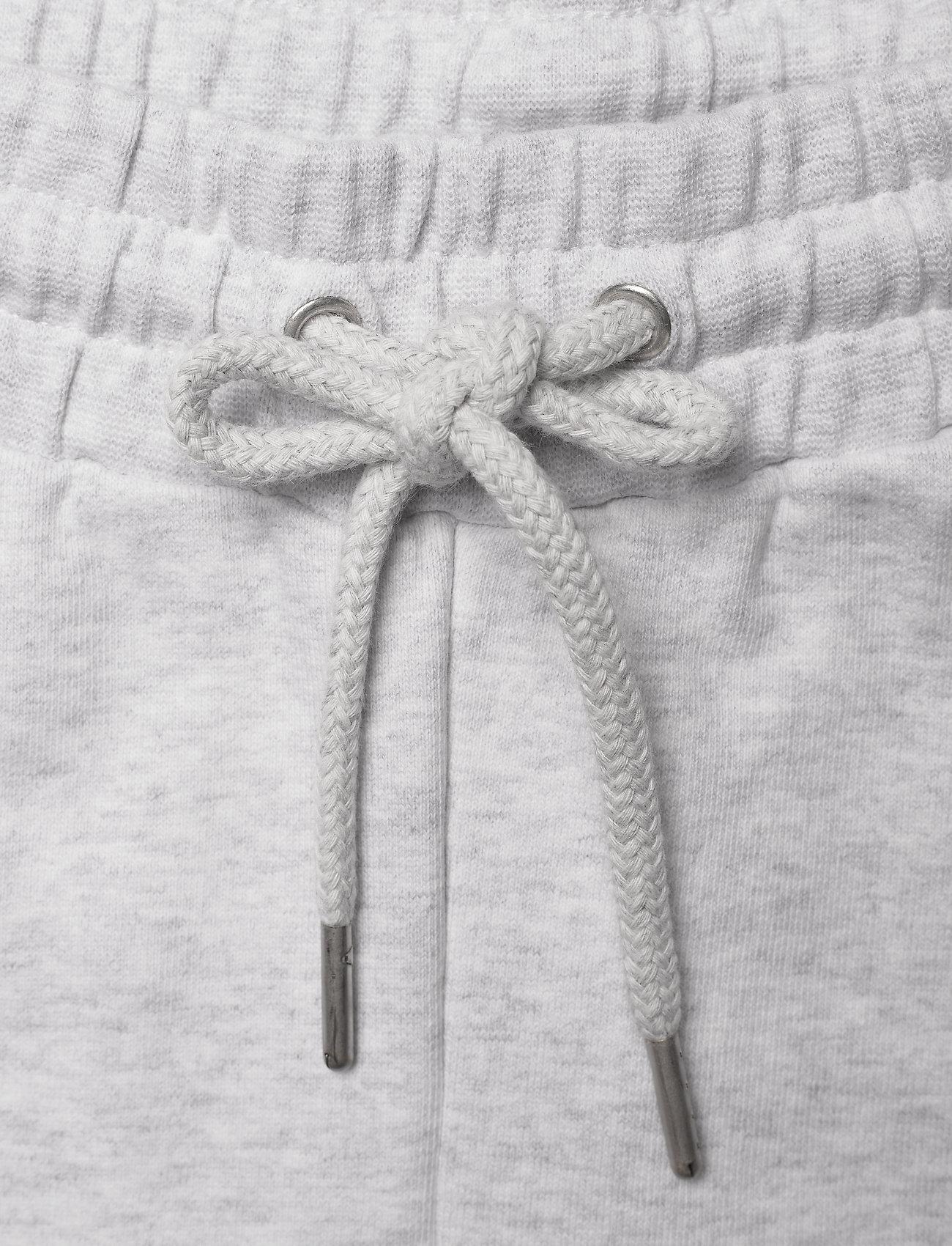 HAN Kjøbenhavn - Sweat shorts - casual shorts - light grey melange logo - 3