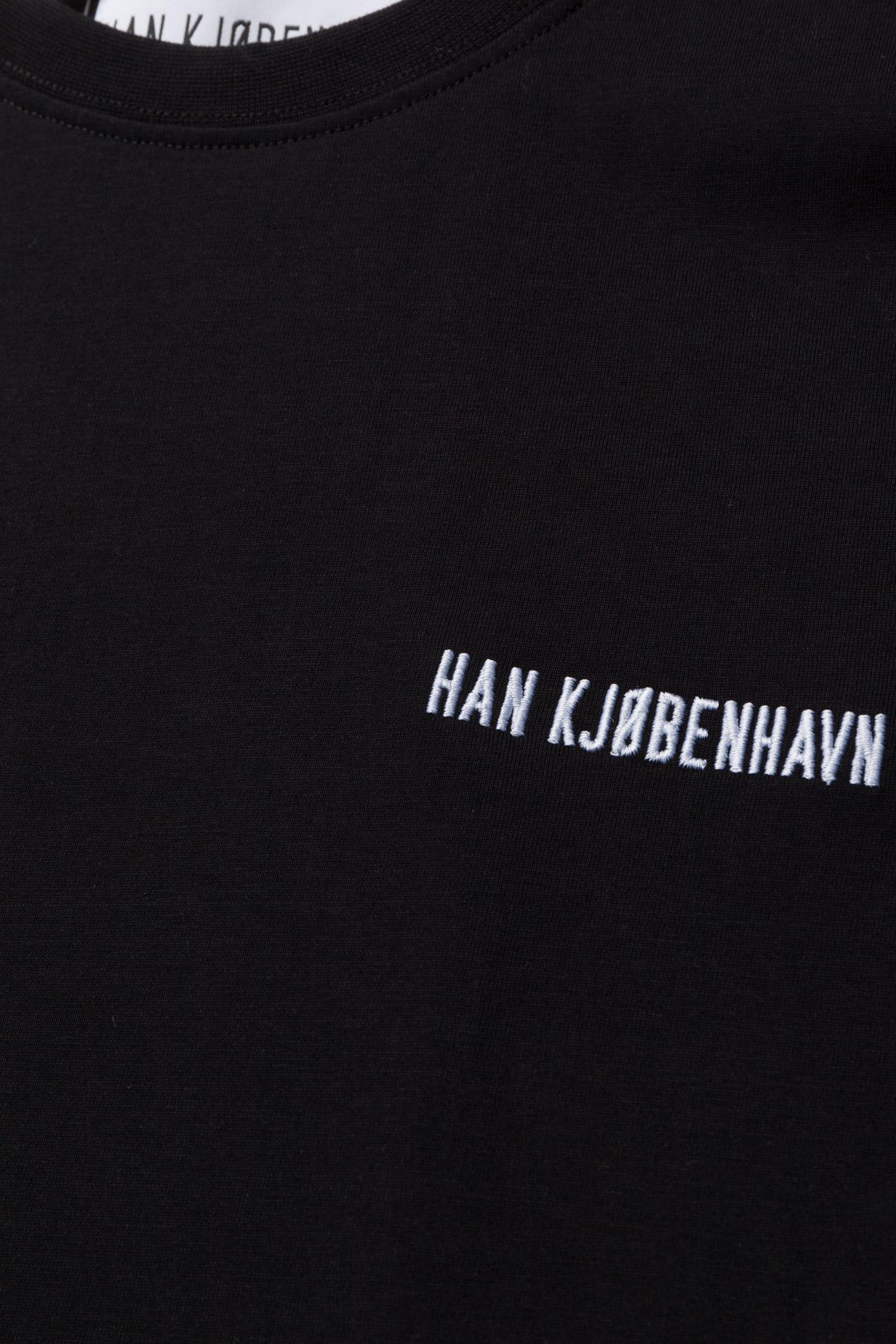 HAN Kjøbenhavn - Casual Tee - korte mouwen - black - 2