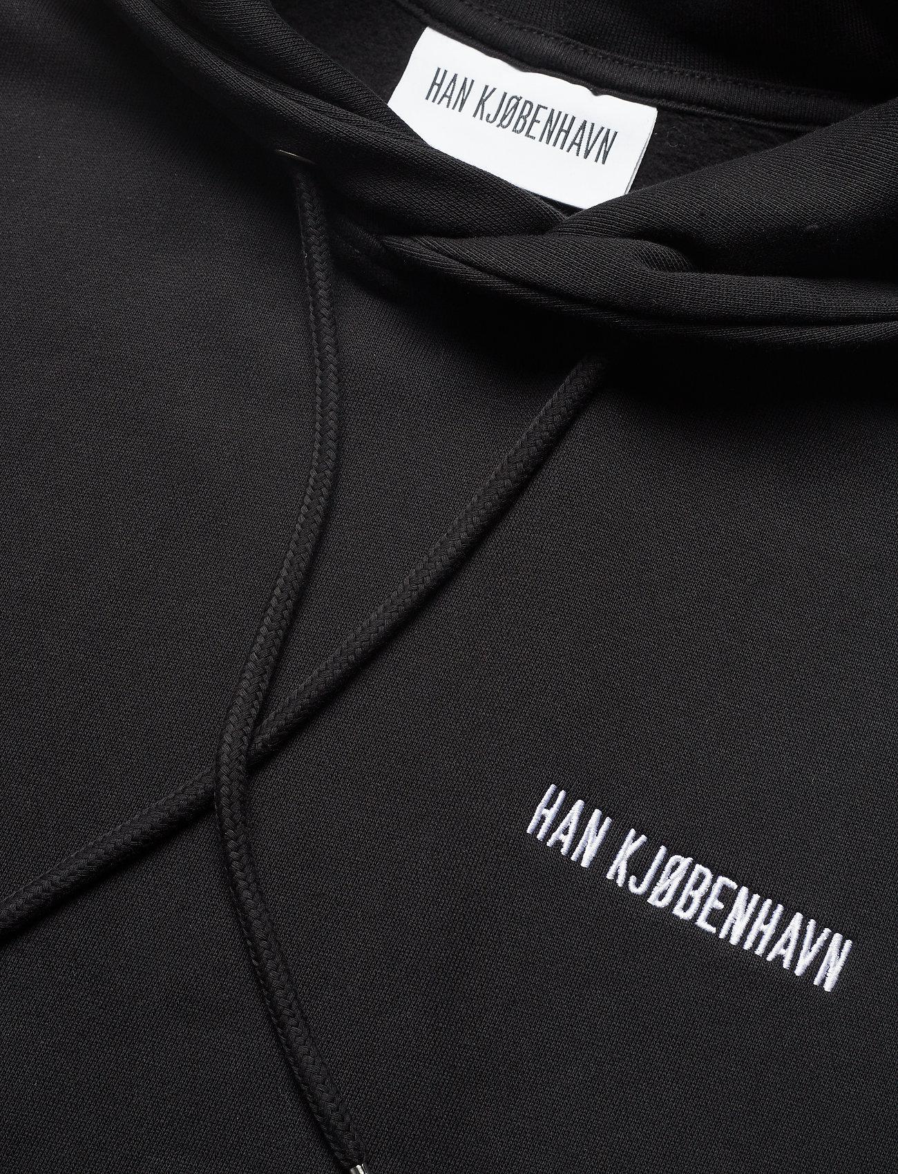 HAN Kjøbenhavn - Casual Hoodie - hoodies - black - 2