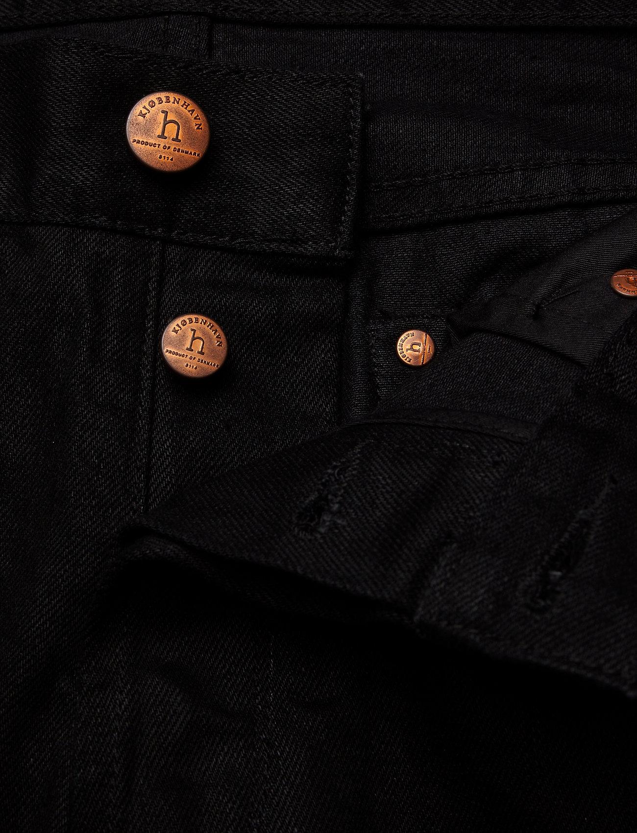 HAN Kjøbenhavn - Tapered Jeans - regular jeans - black black - 3