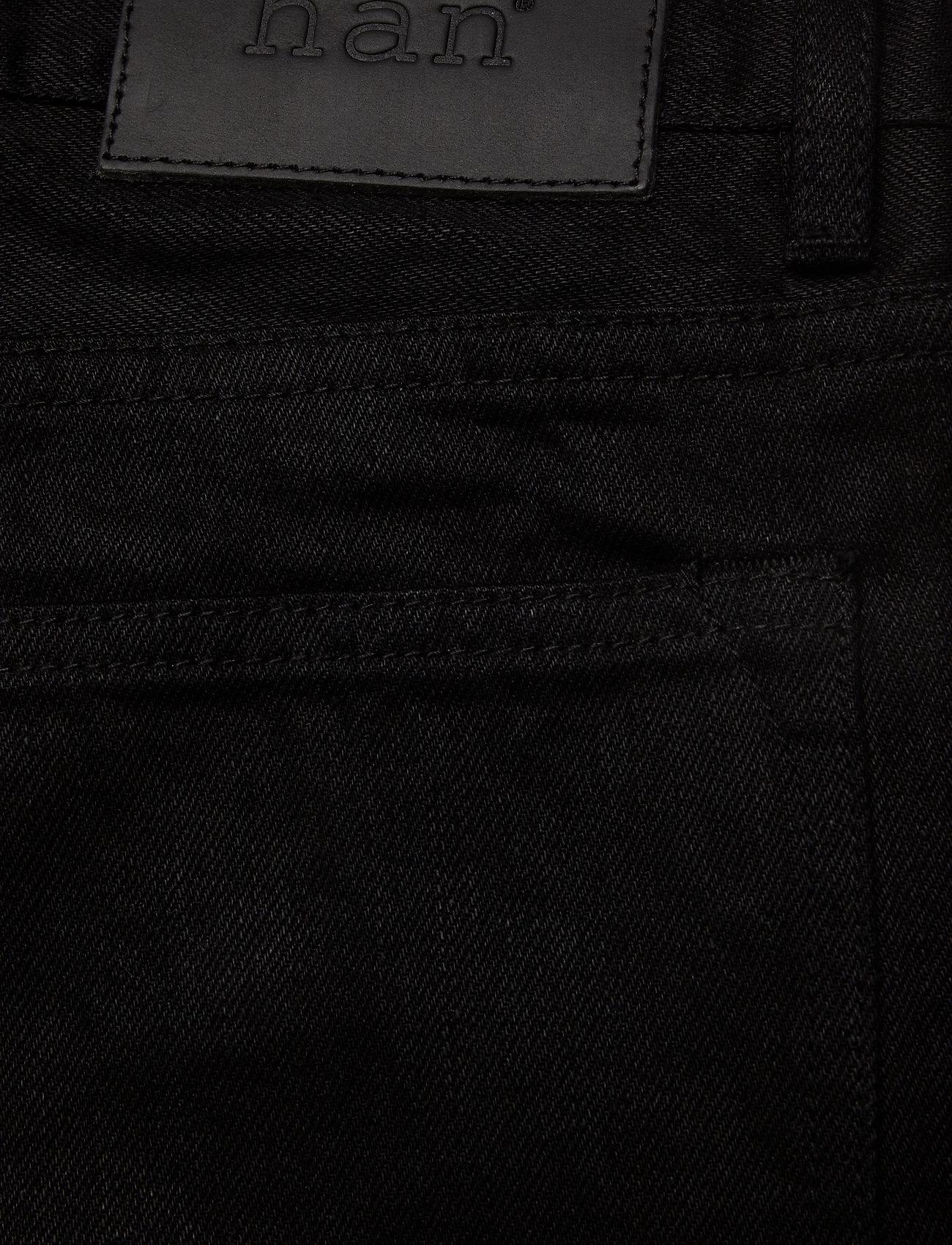 HAN Kjøbenhavn - Tapered Jeans - regular jeans - black black - 4